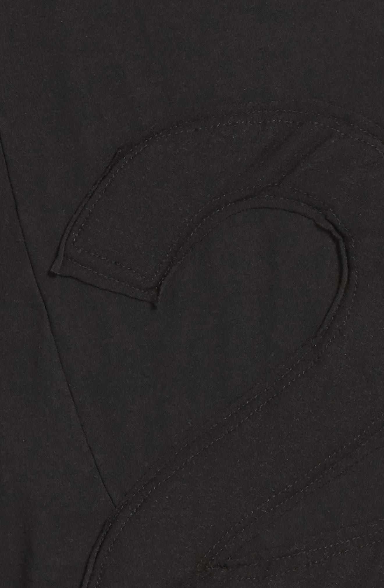 Puffy Number Penguin Shirt,                             Alternate thumbnail 2, color,                             Black