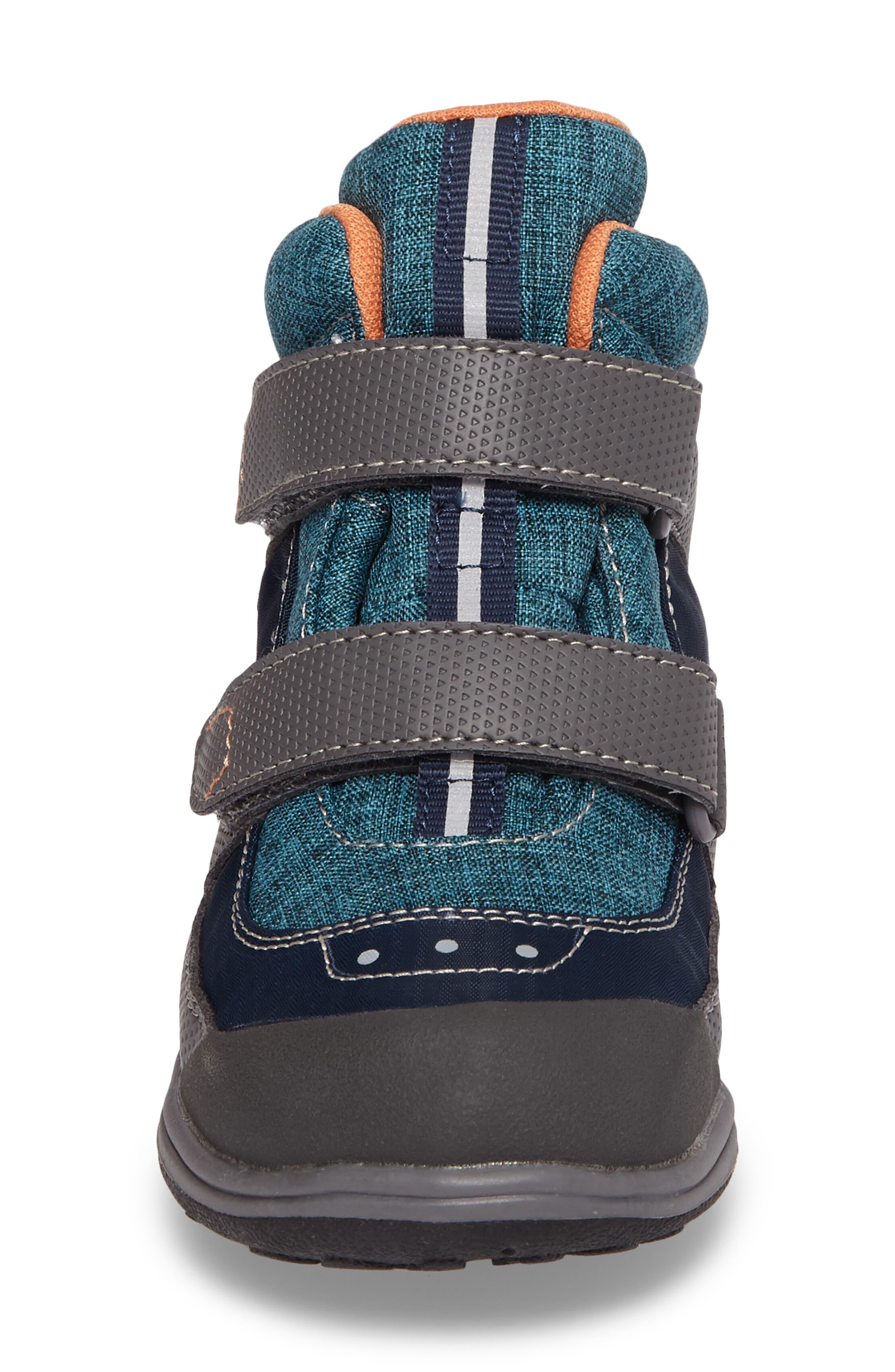 'Atlas' Waterproof Boot,                             Alternate thumbnail 4, color,                             Blue