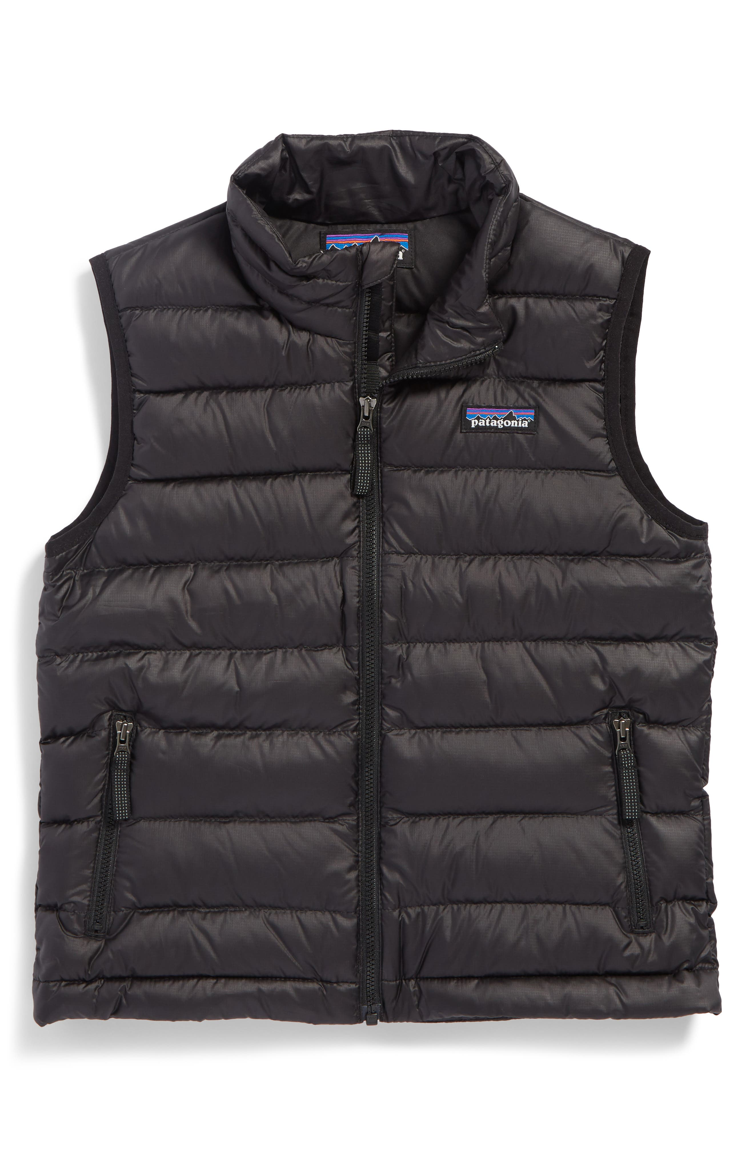 Patagonia 600-Fill Power Down Windproof & Water Resistant Sweater Vest (Little Boys & Big Boys)