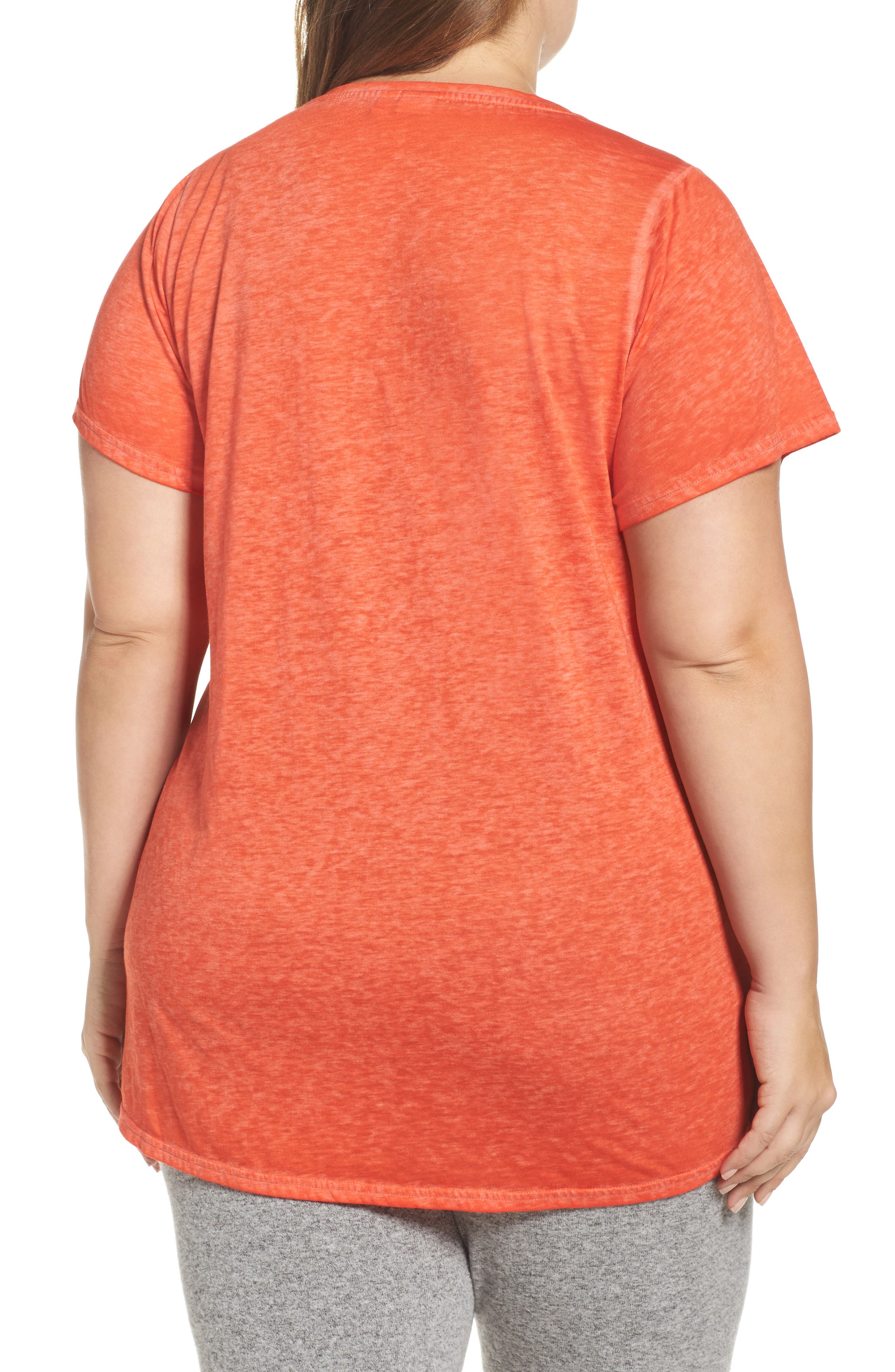 Alternate Image 2  - Make + Model 'Gotta Have It' V-Neck Tee (Plus Size)