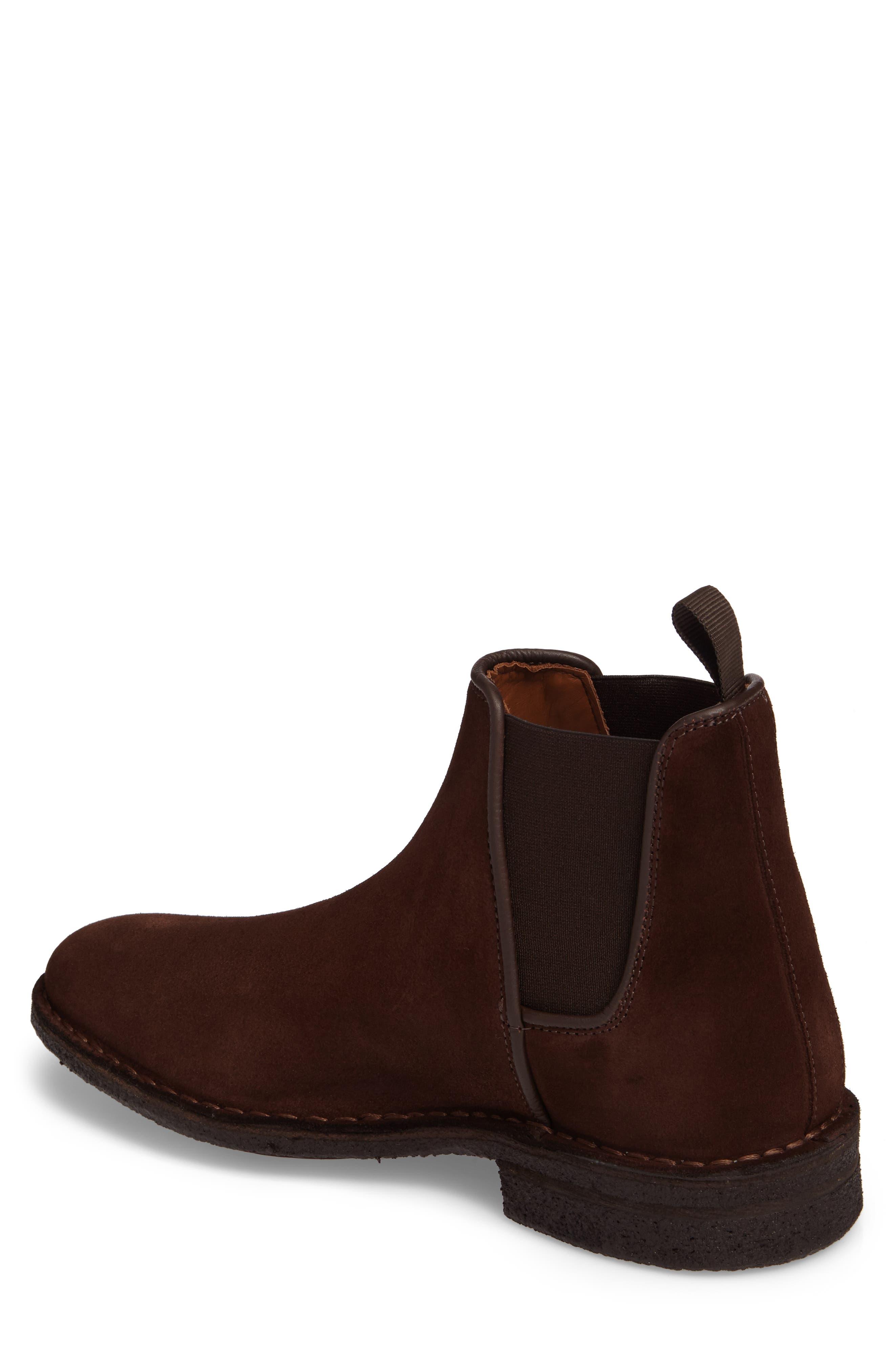 Oscar Chelsea Boot,                             Alternate thumbnail 2, color,                             Medium Brown