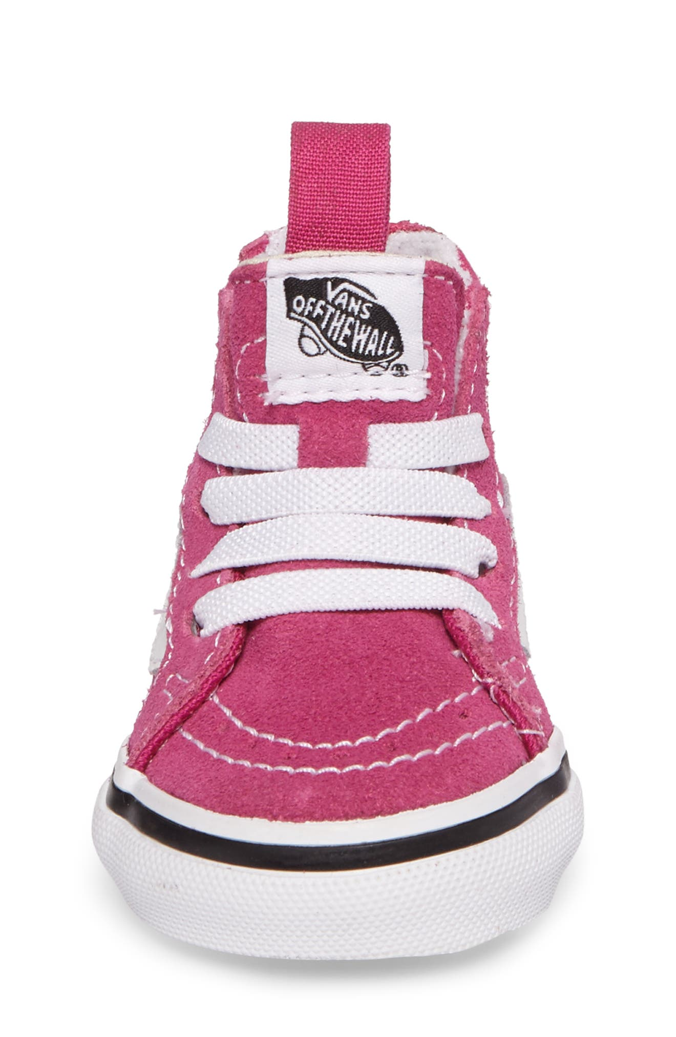 Alternate Image 4  - Vans Sk8-Hi Zip Sneaker (Baby, Walker, Toddler, Little Kid & Big Kid)