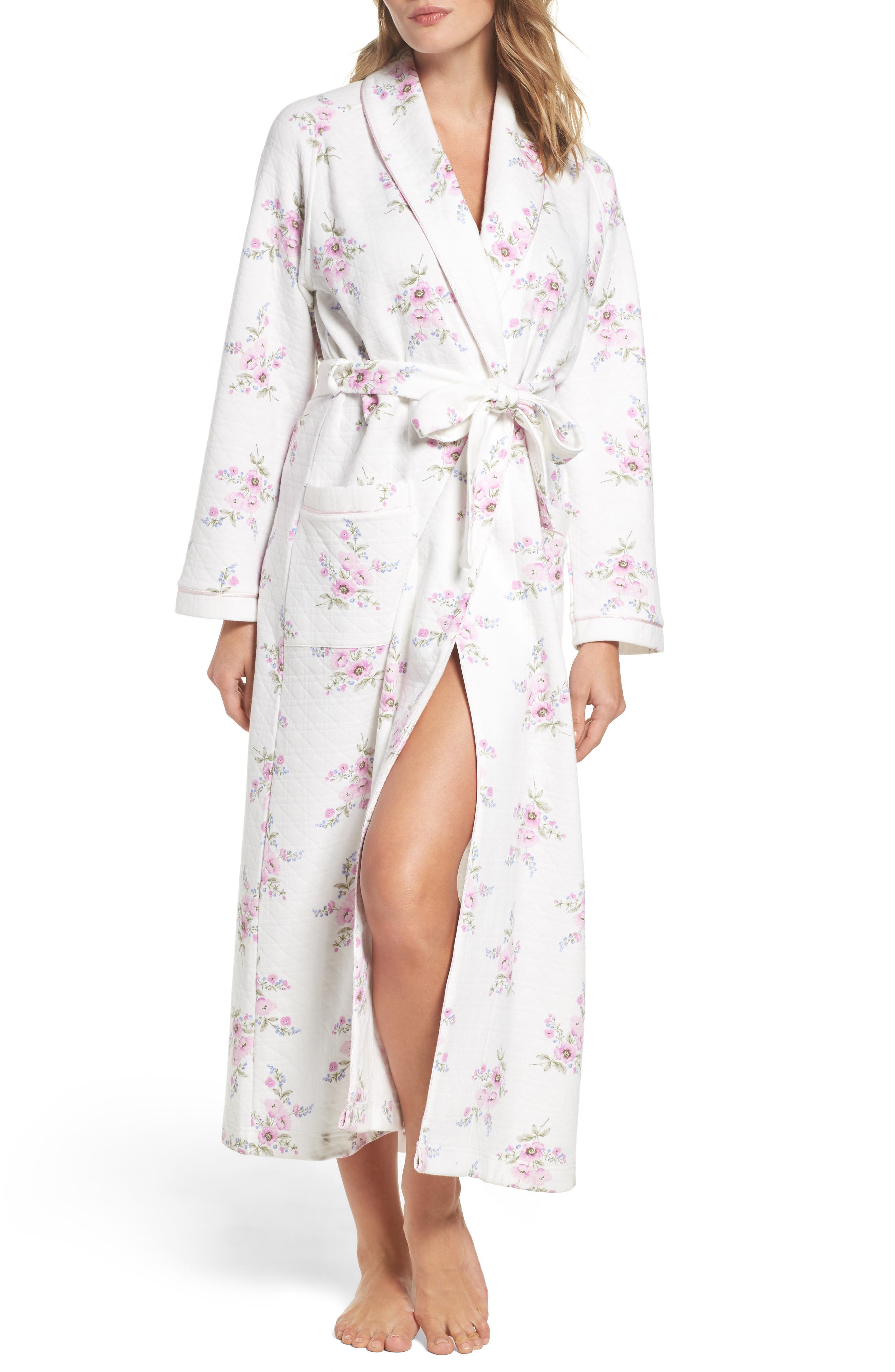 Alternate Image 1 Selected - Carole Hochman Floral Print Robe