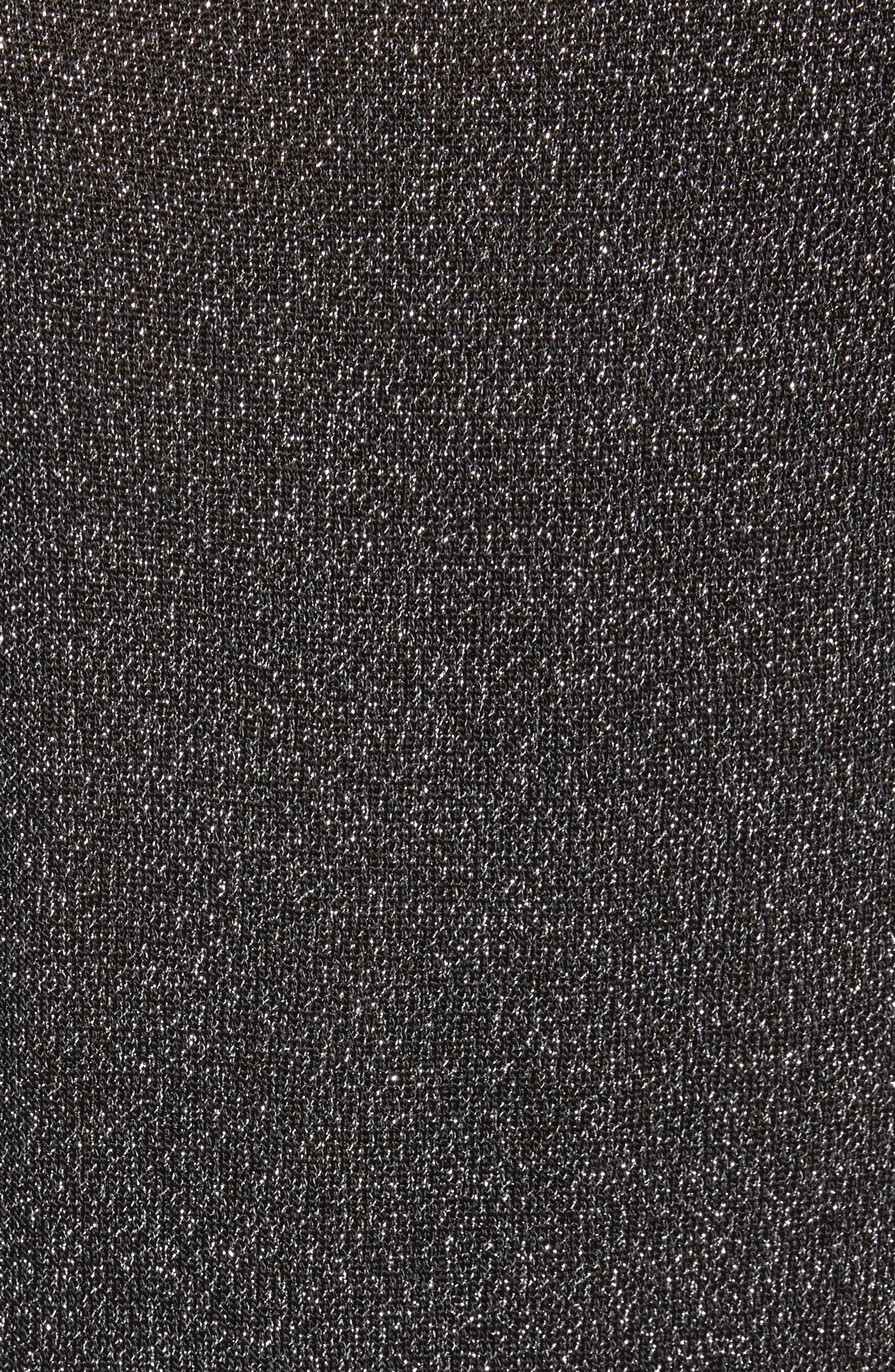 Alternate Image 5  - Michael Kors Metallic Knit Raglan Pullover
