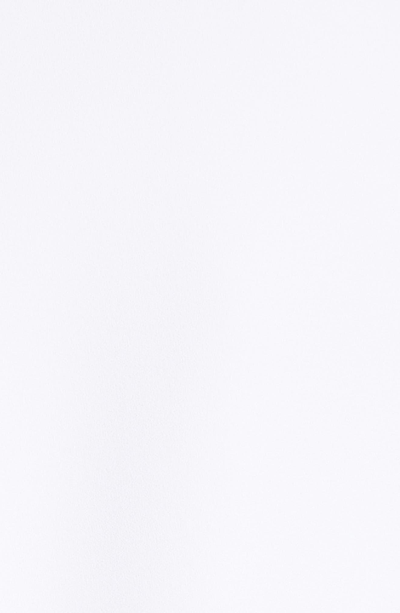 Double Crepe Sable Jacket,                             Alternate thumbnail 6, color,                             Optic White