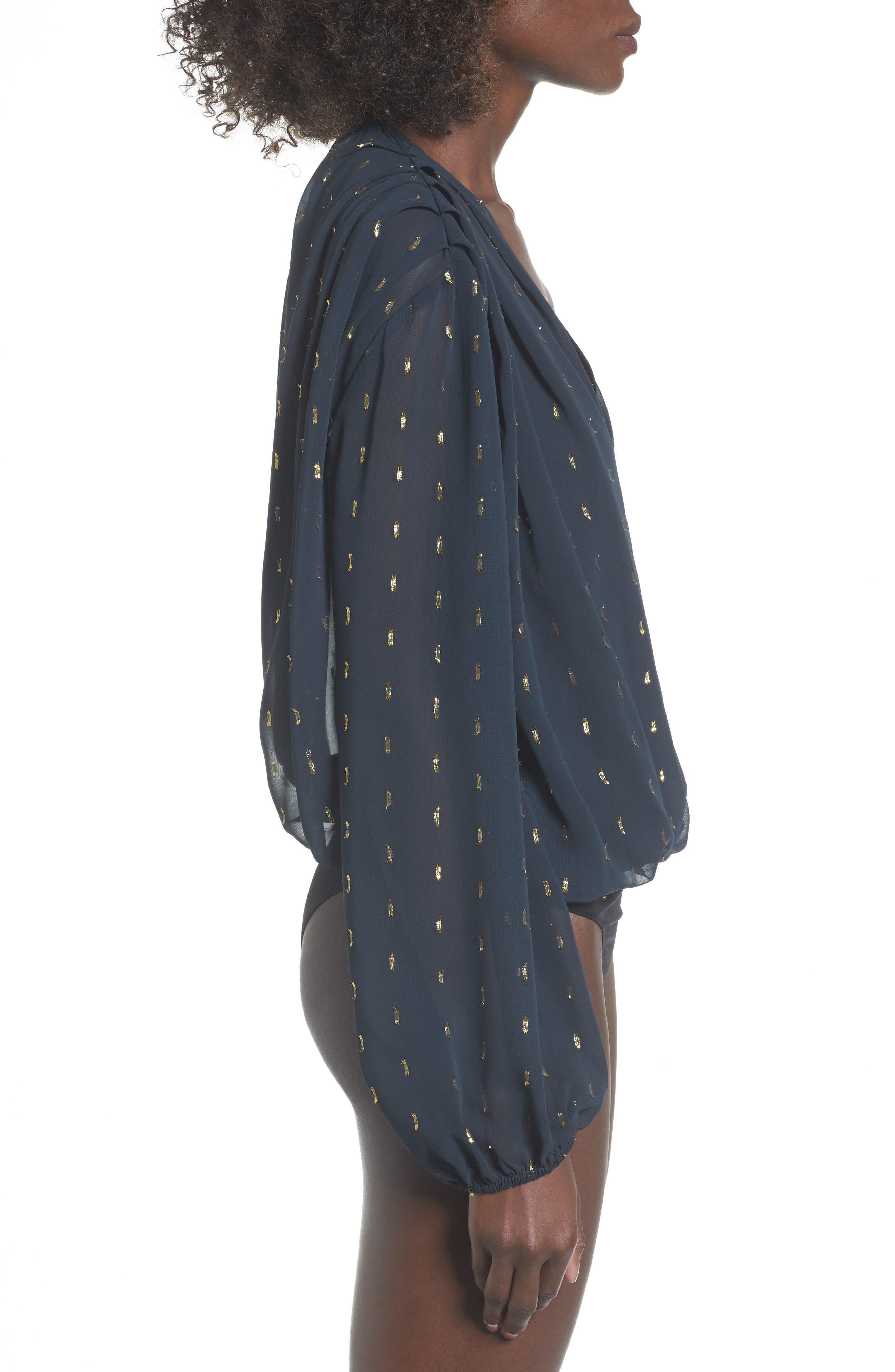 Alternate Image 4  - Leith Bloused Bodysuit