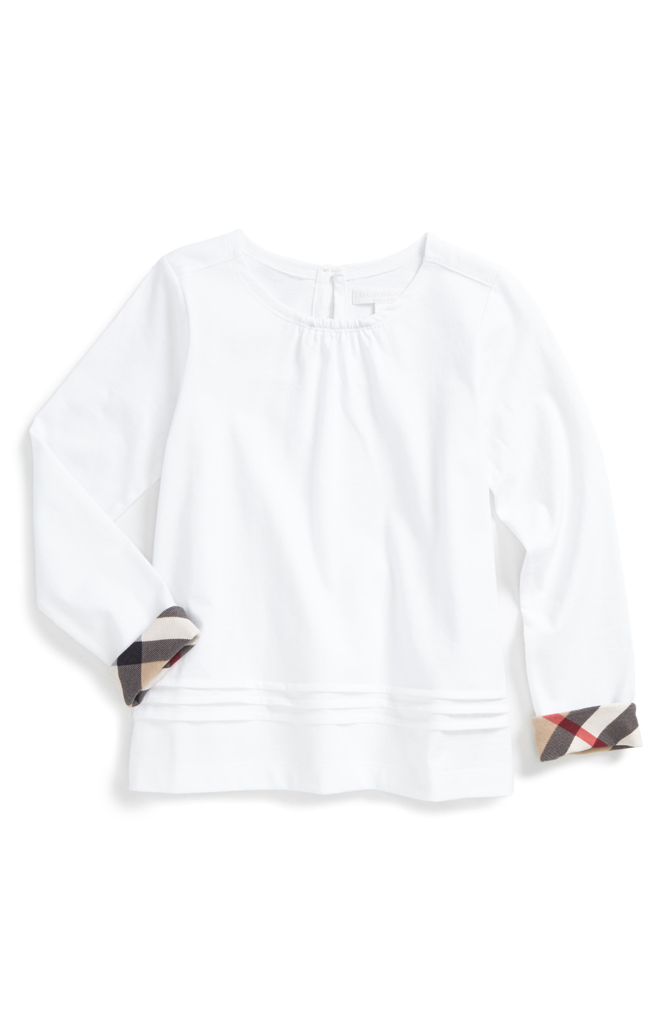 Gisselle Tee,                         Main,                         color, White
