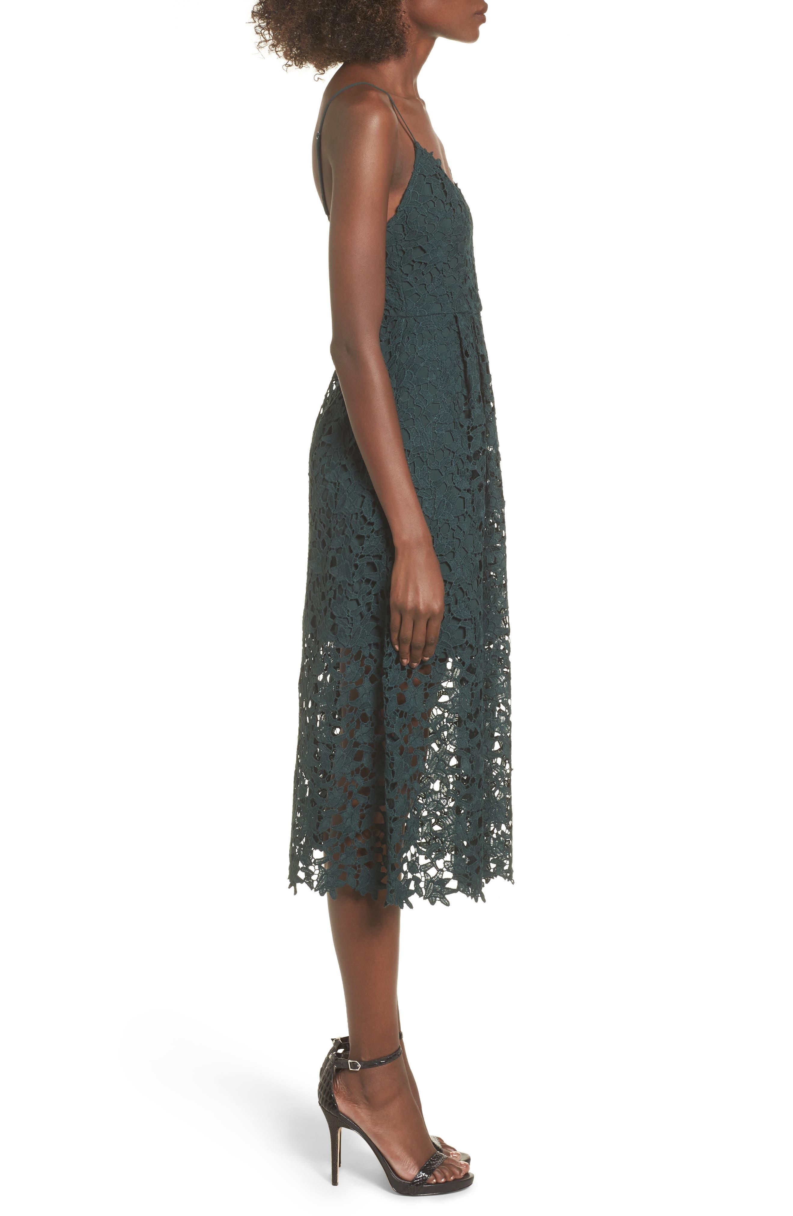 Alternate Image 3  - ASTR the Label Lace Midi Dress