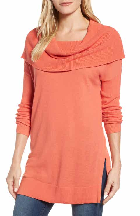 Women's Pink Cowl Neck Sweaters | Nordstrom