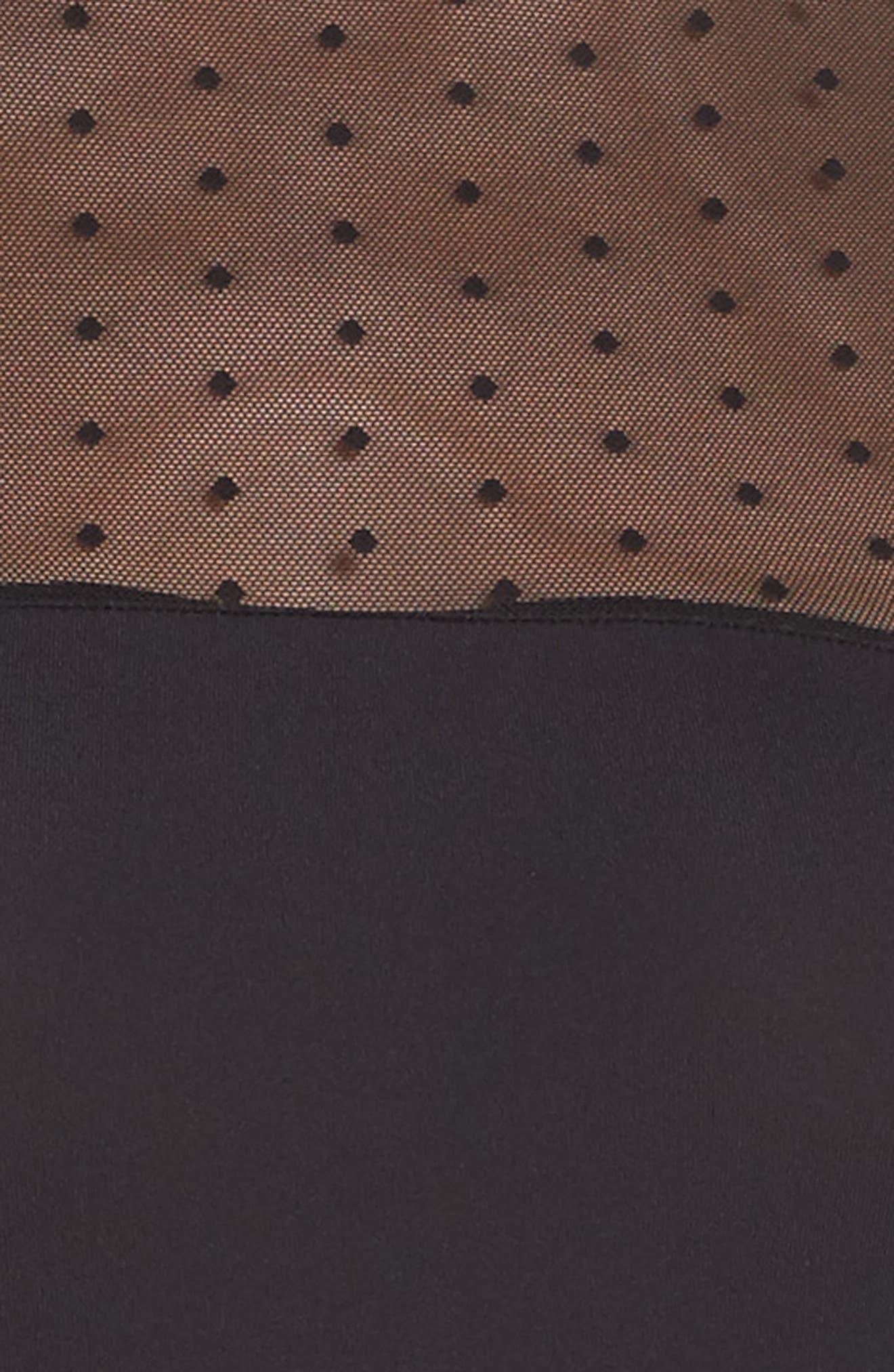 Alternate Image 6  - Vince Camuto Illusion Bodysuit