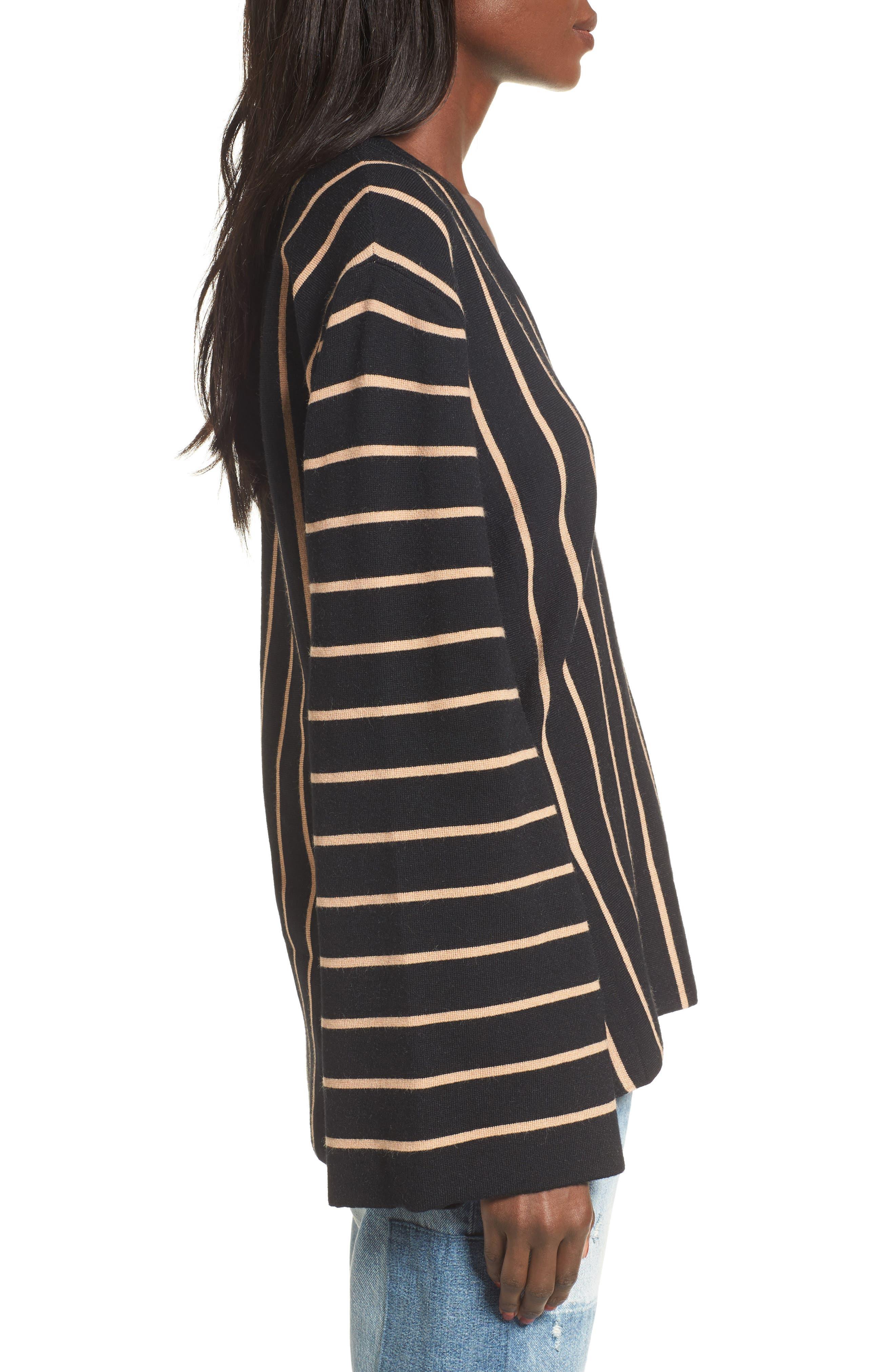 Alternate Image 4  - MOON RIVER Split Cuff Sweater