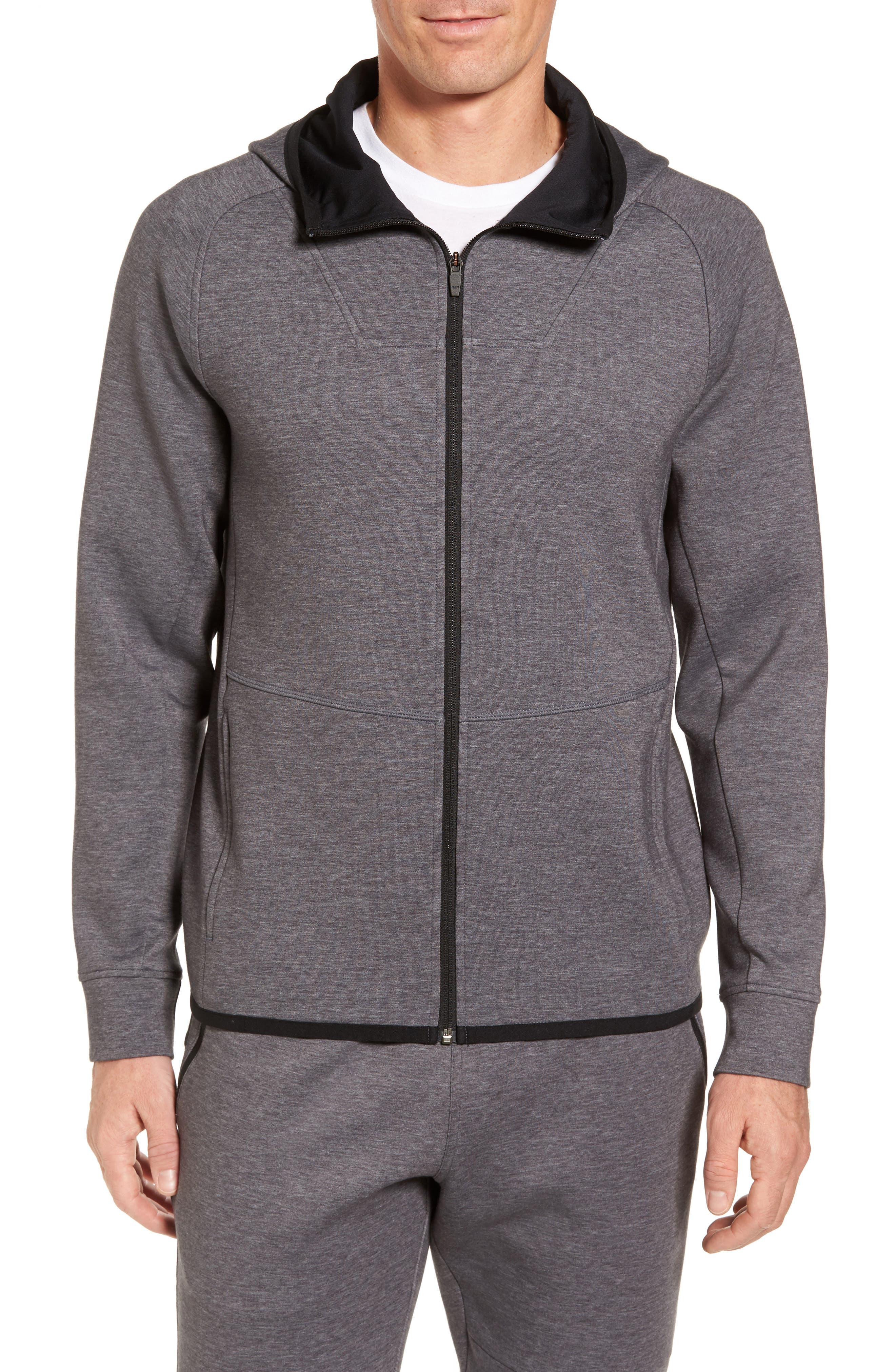 Zella Tech Interlock Zip Hoodie