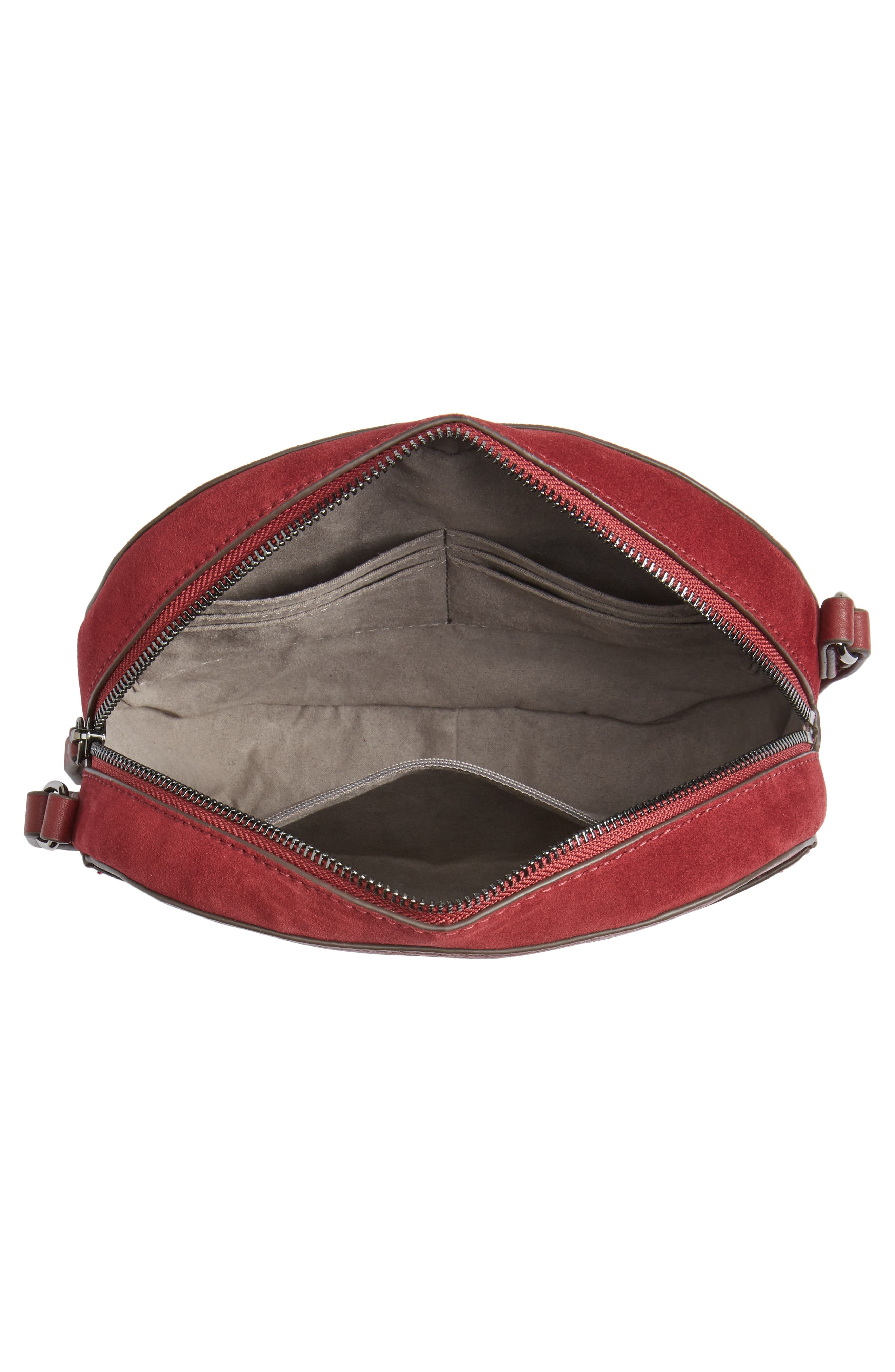 Alternate Image 3  - Vince Camuto Areli Suede & Leather Crossbody Bag