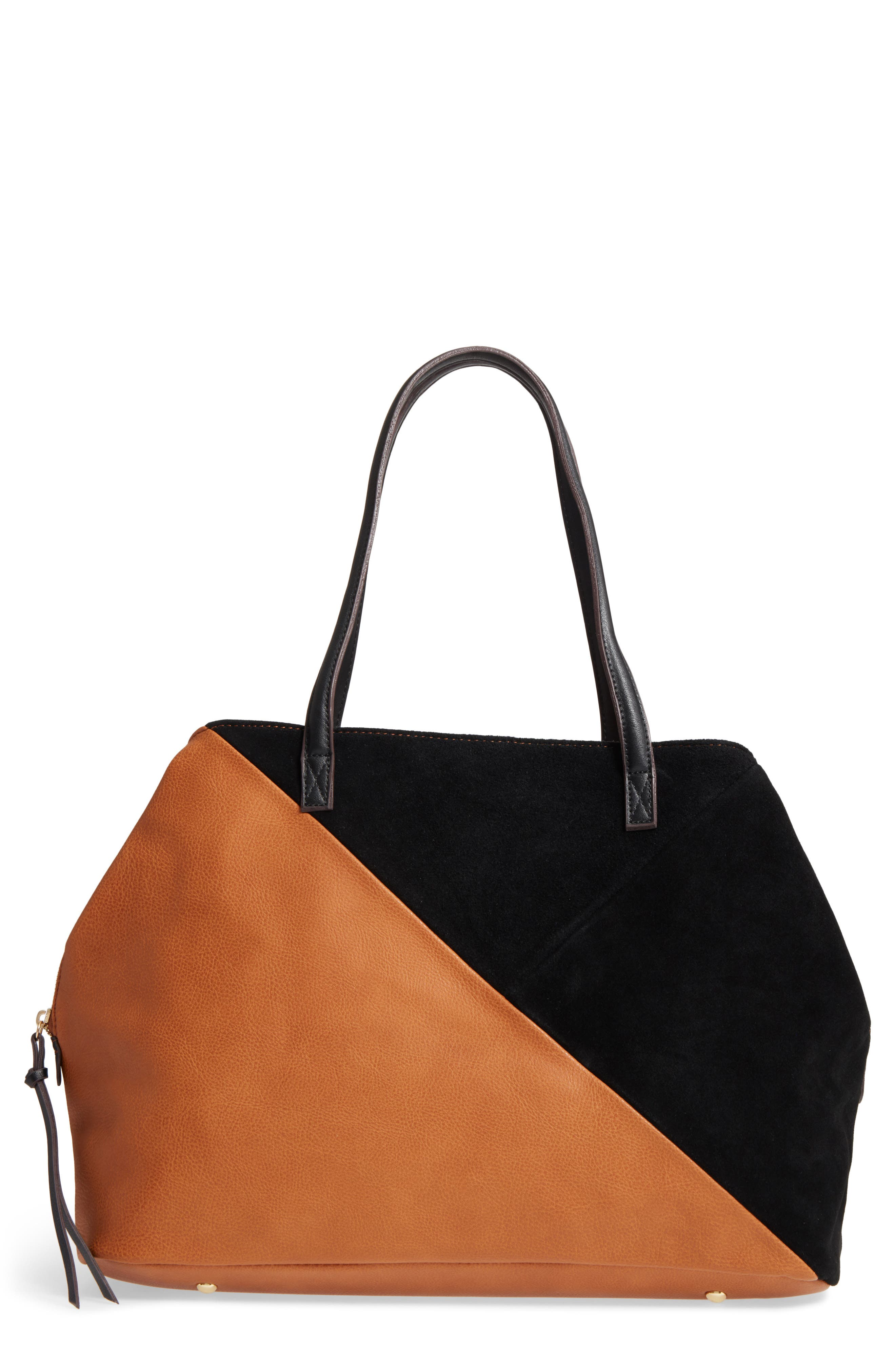 Alternate Image 1 Selected - Sole Society Millar Faux Leather Tote