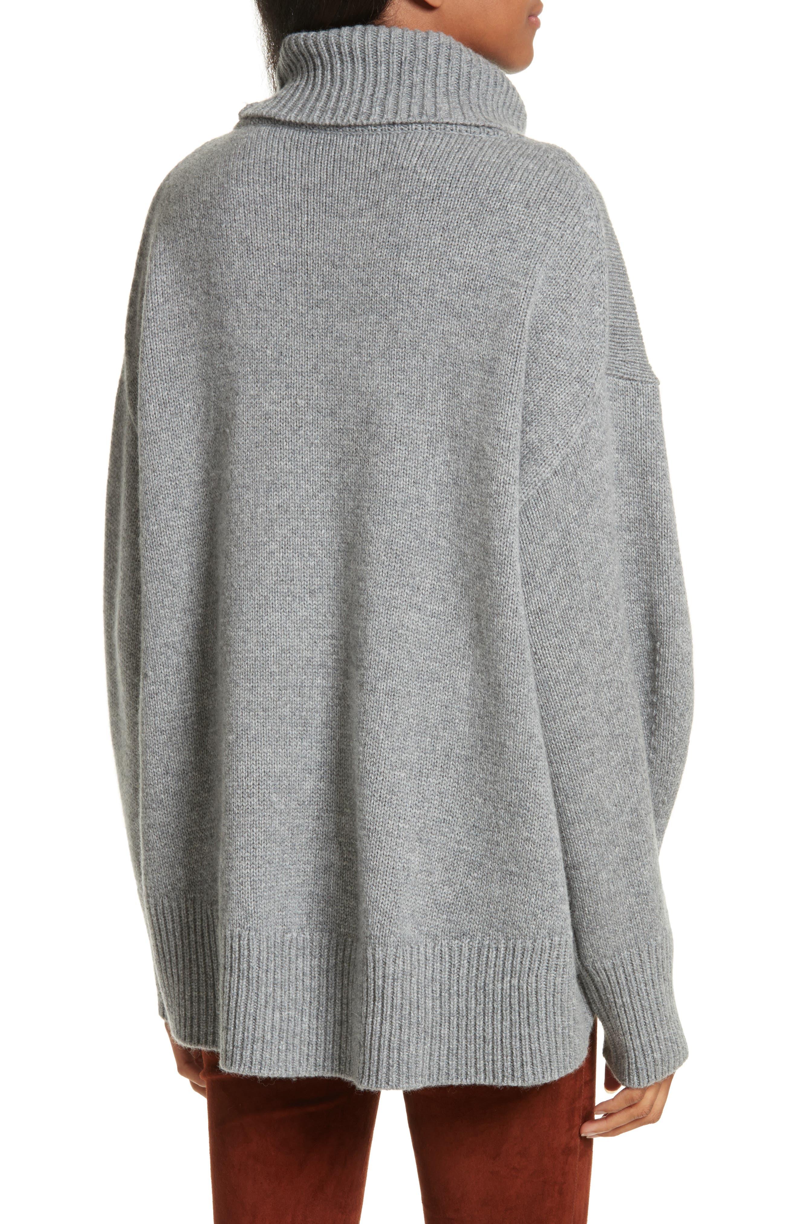 Alternate Image 2  - JOSEPH Turtleneck Cashmere Sweater