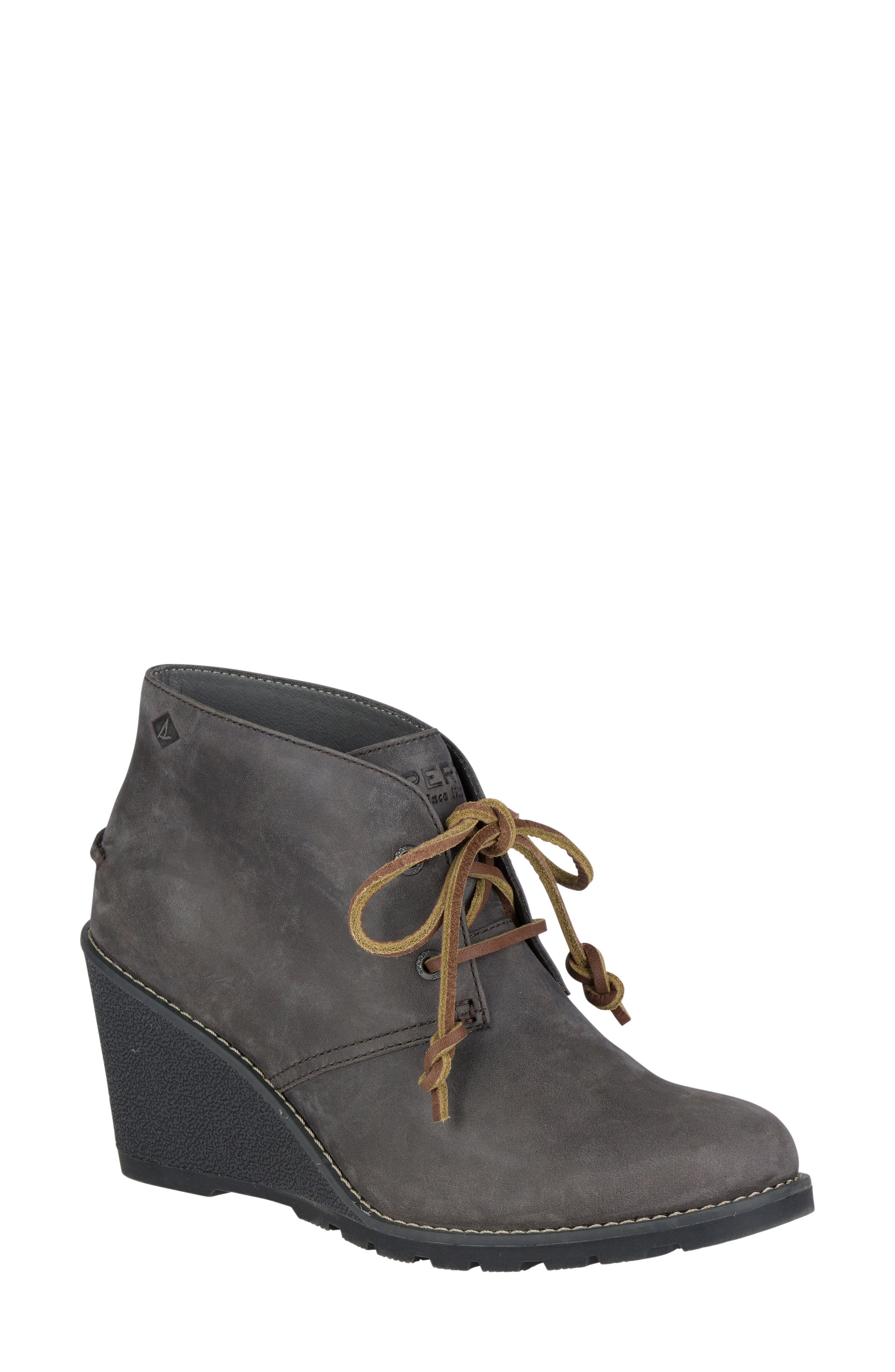Main Image - Sperry Celeste Lace-Up Bootie (Women)