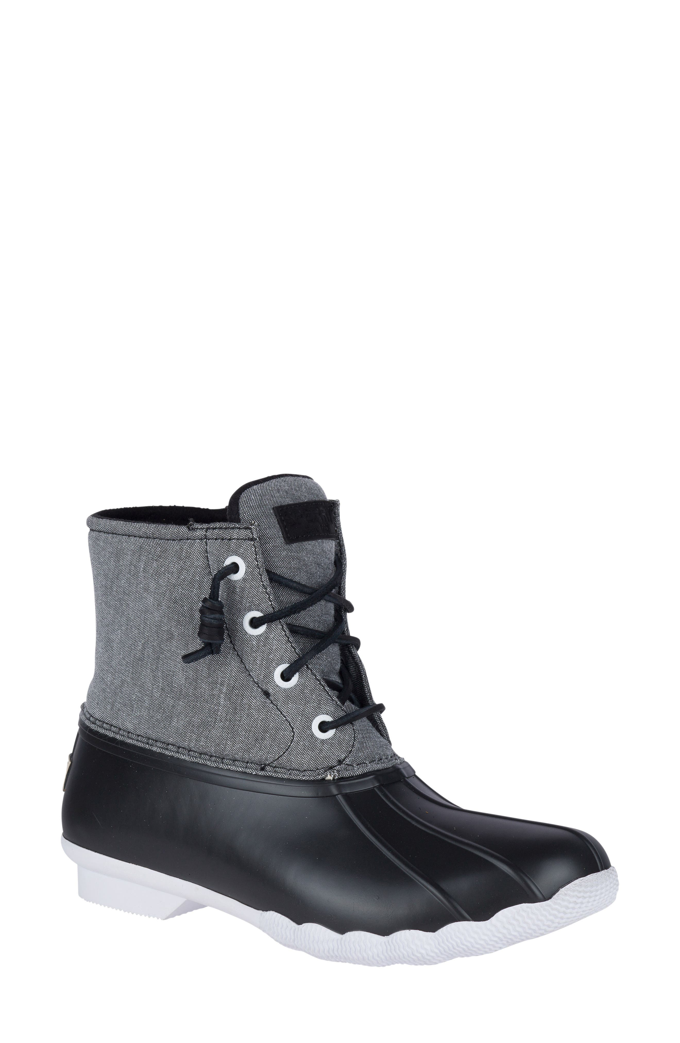 Alternate Image 1 Selected - Sperry 'Saltwater' Waterproof Rain Boot (Women)