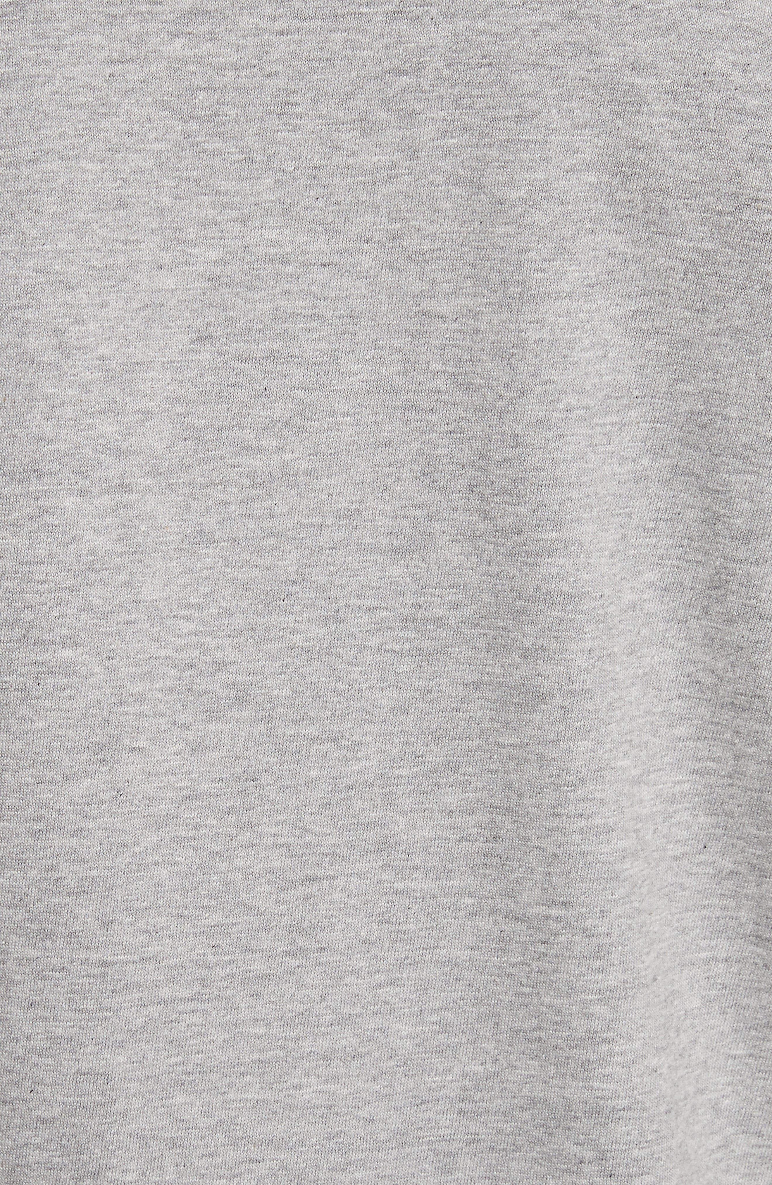 PLAY Upside Down Graphic T-Shirt,                             Alternate thumbnail 5, color,                             Grey