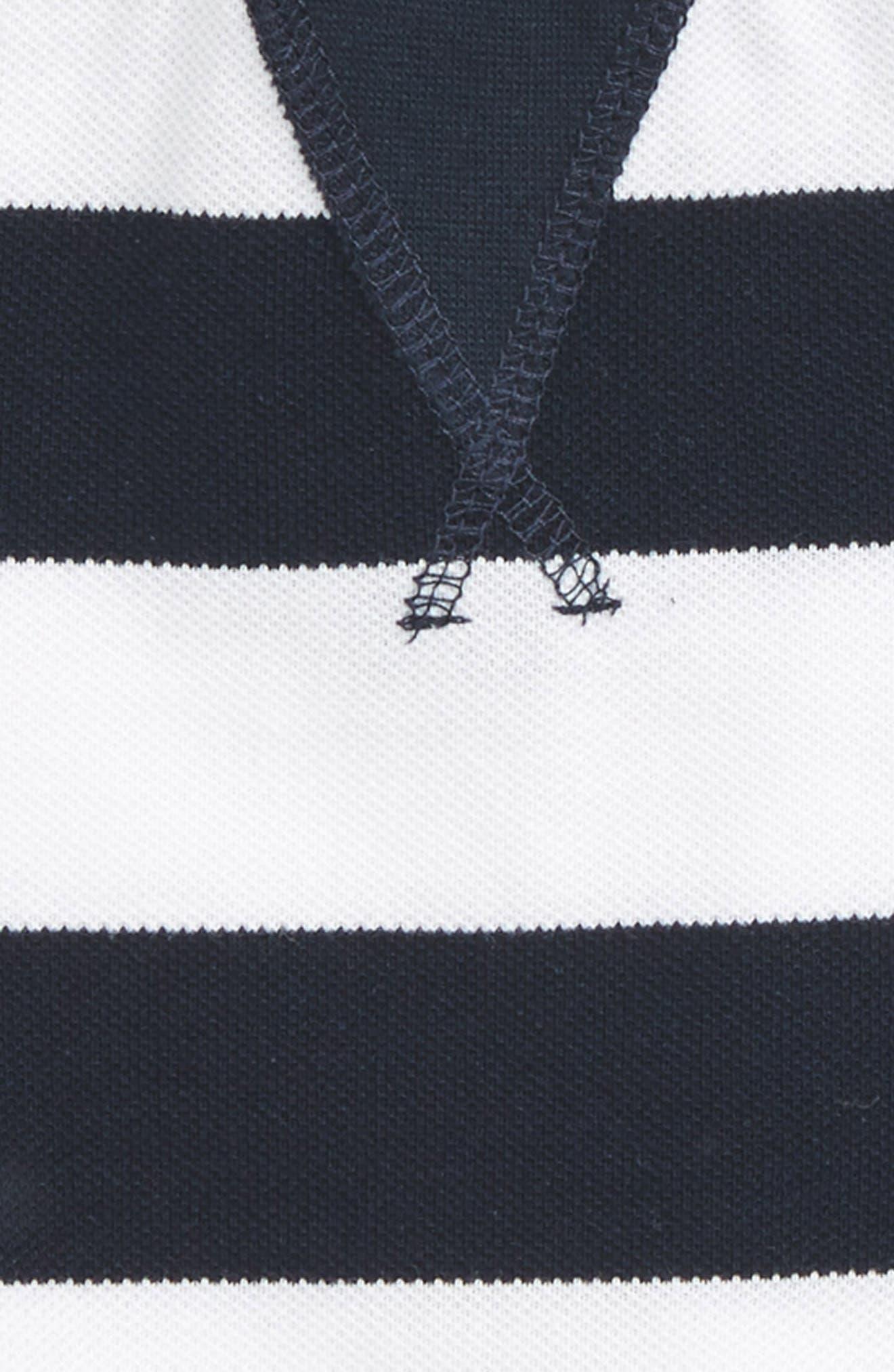 Alternate Image 2  - Bardot Junior Stripe Shirt (Baby Boys & Toddler Boys)