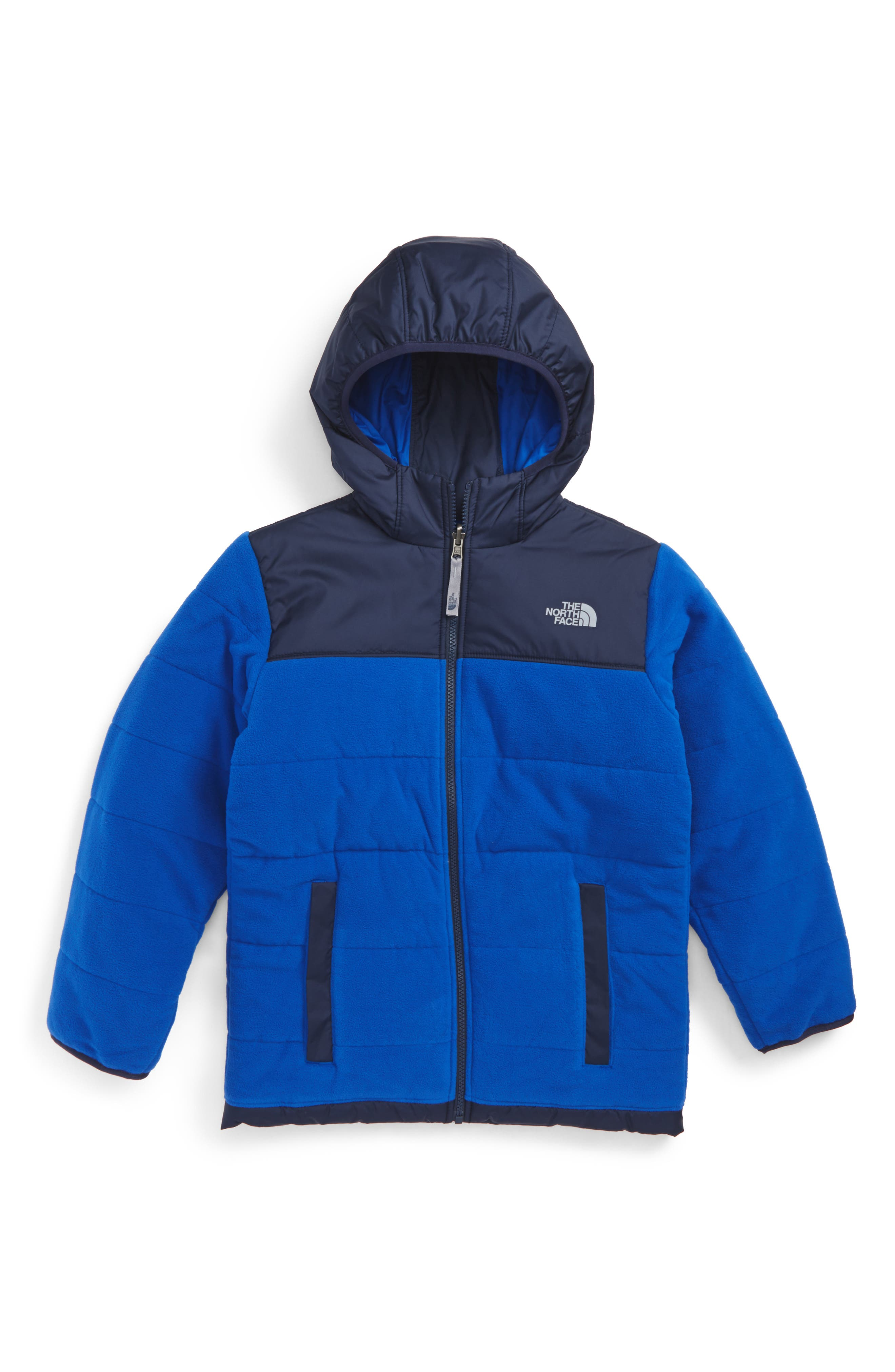Main Image - The North Face True or False Reversible Jacket (Big Boys)