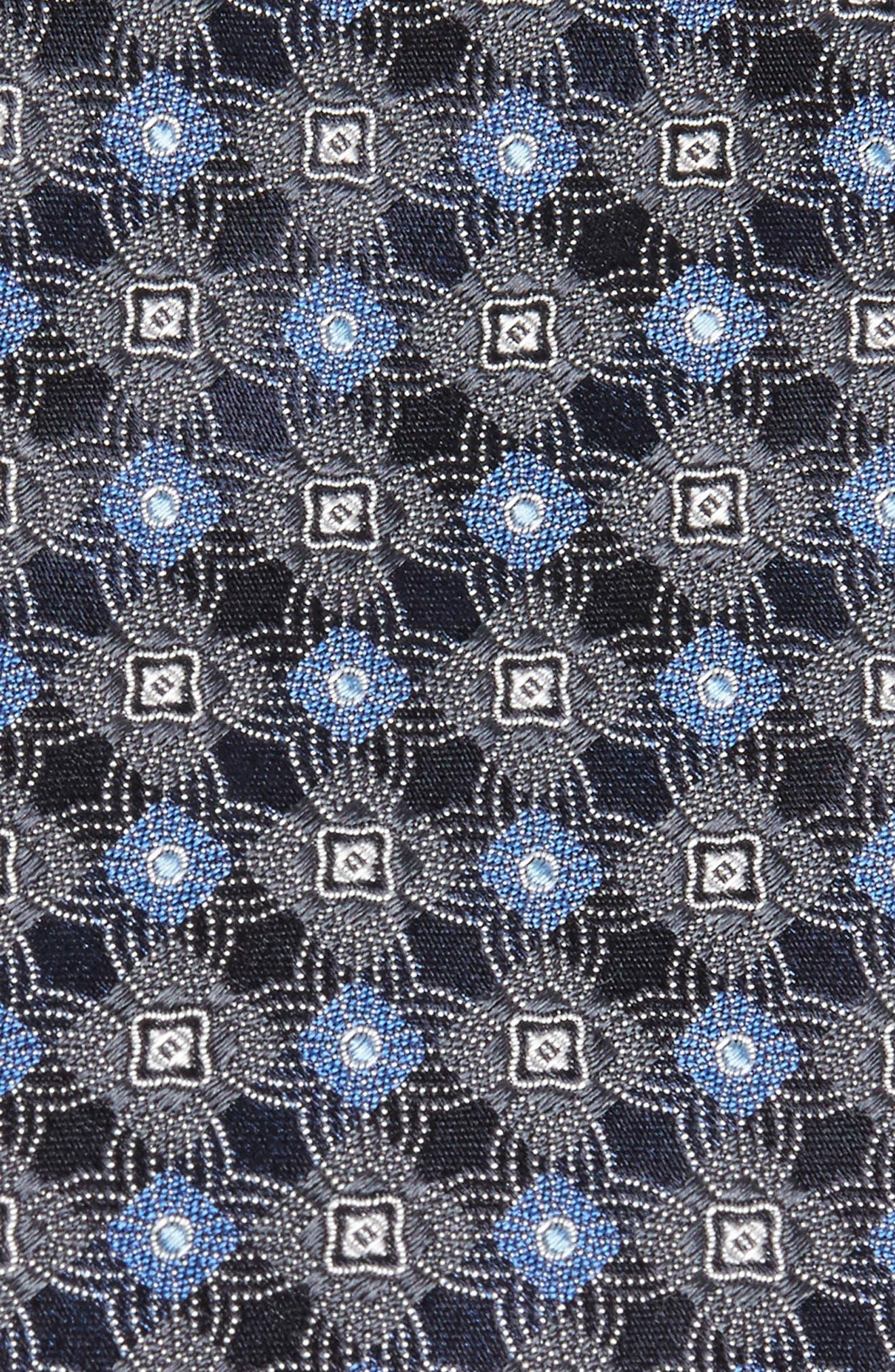 Alternate Image 2  - Brioni Medallion Silk Tie