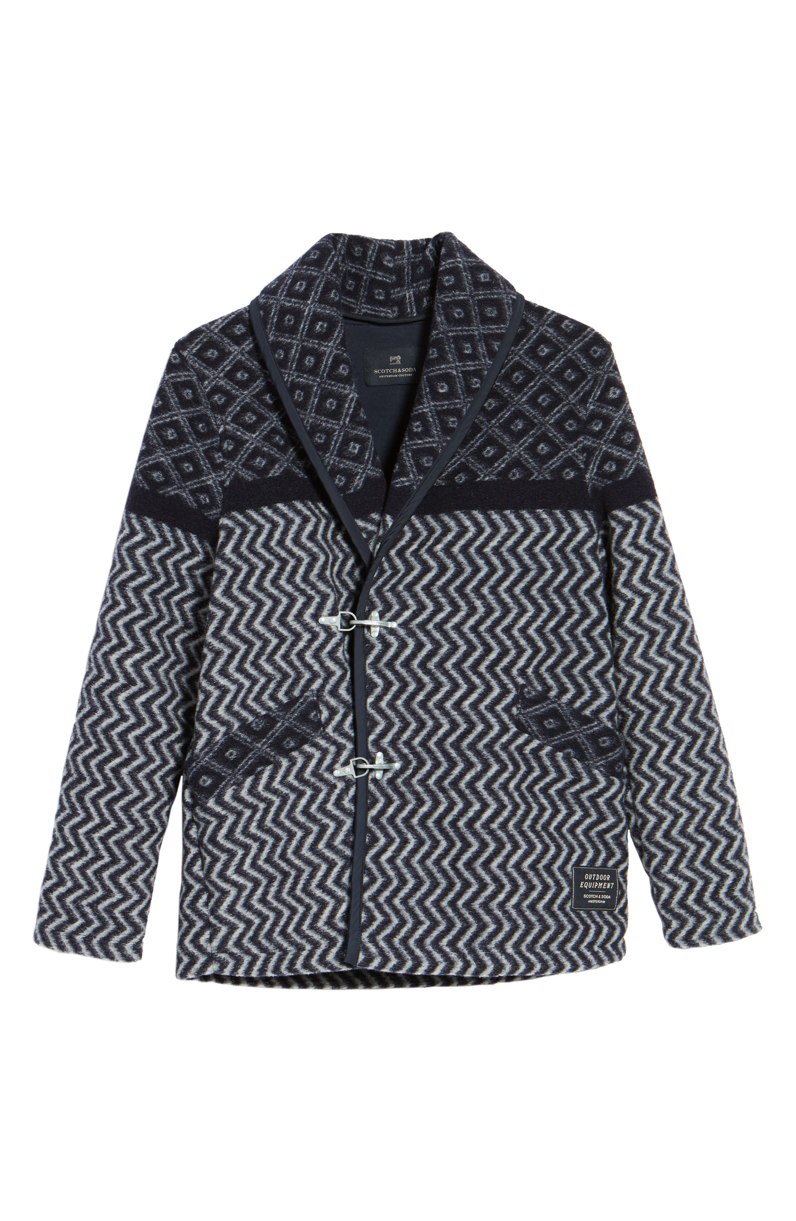 Blanket Jacket,                             Alternate thumbnail 6, color,                             Blue