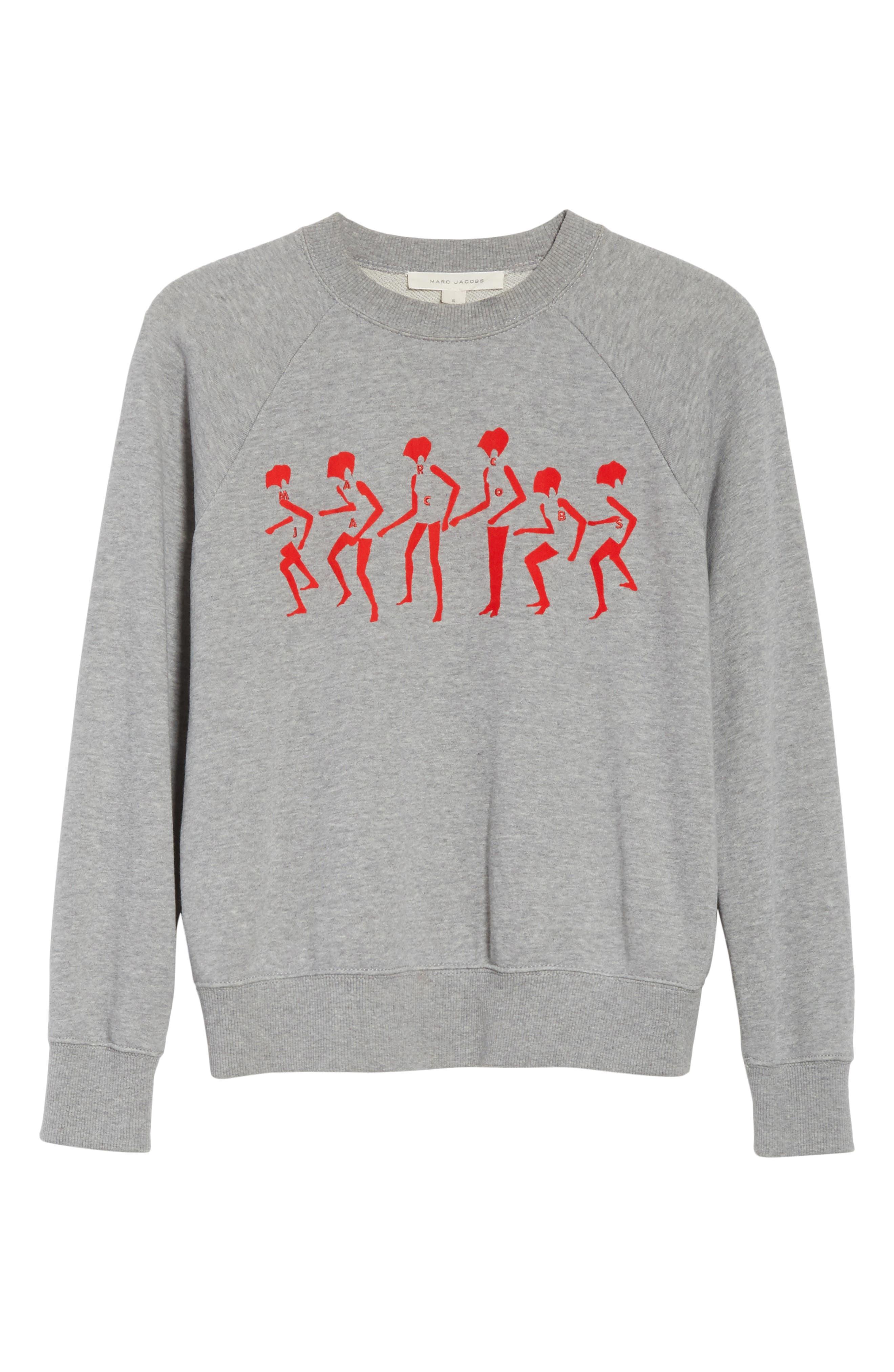 Alternate Image 6  - MARC JACOBS Graphic Raglan Sweatshirt