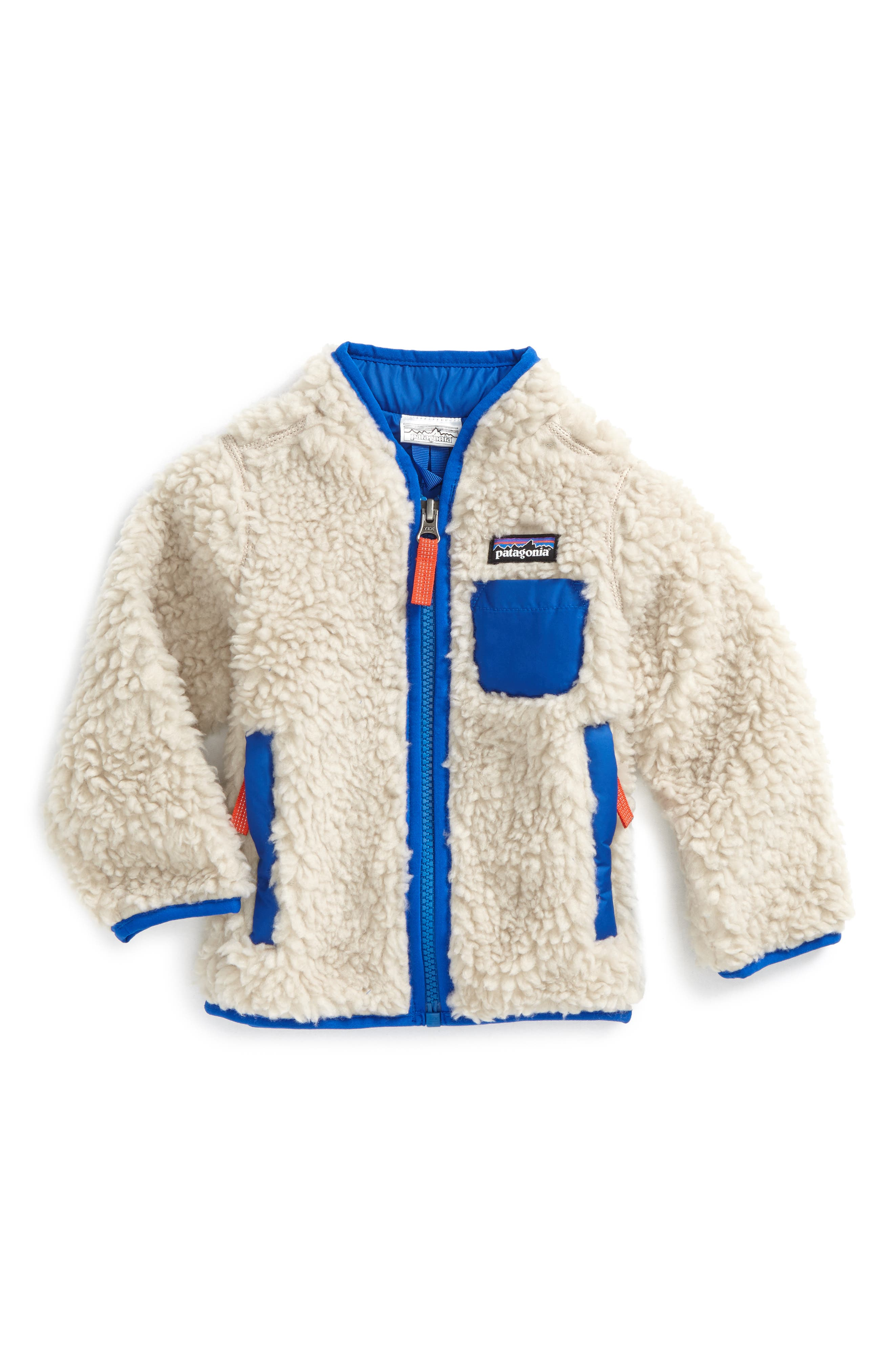 Retro-X Windproof Jacket,                         Main,                         color, Natural/ Viking Blue