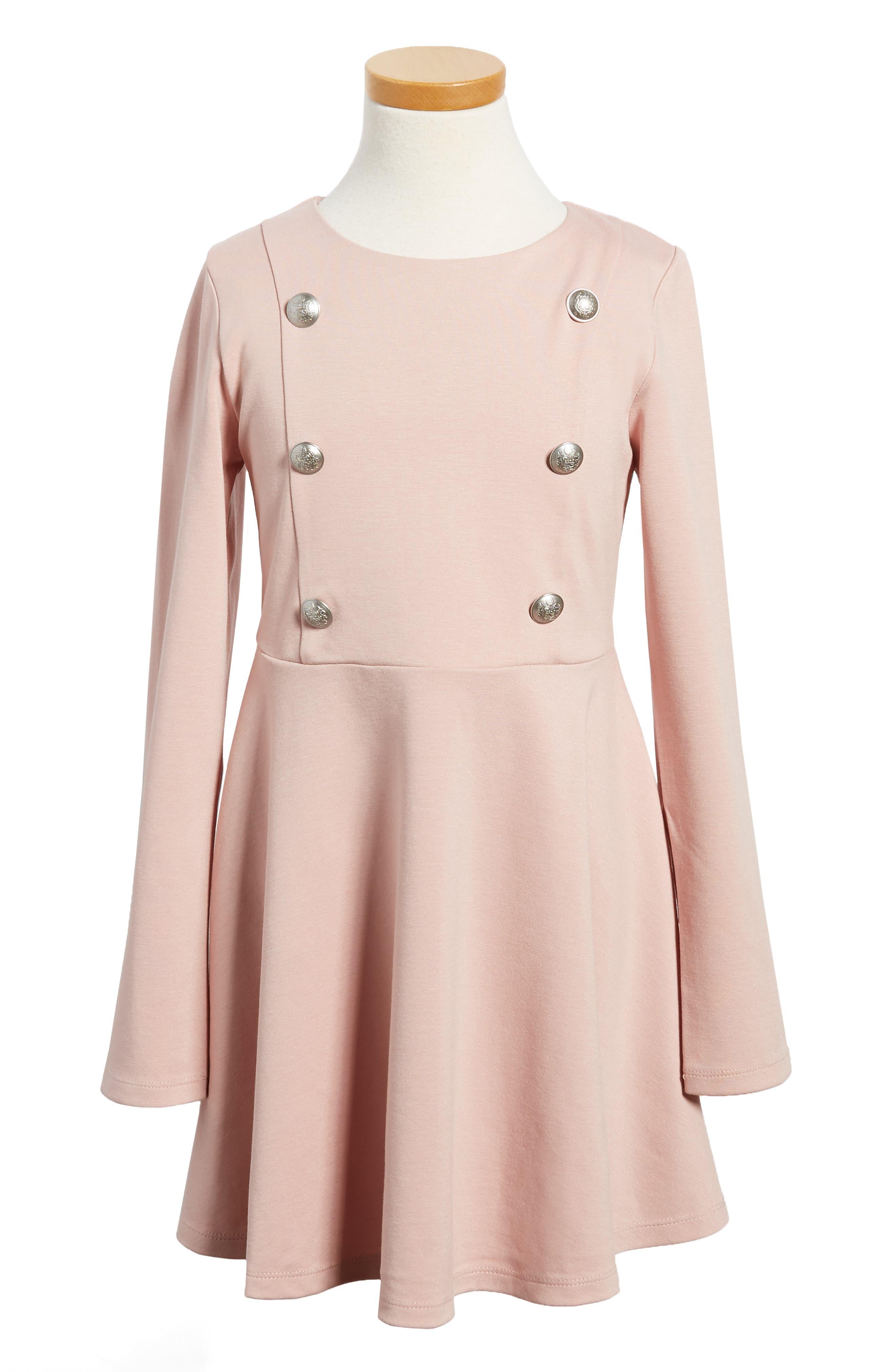 Bardot Junior Button Front Dress (Little Girls)