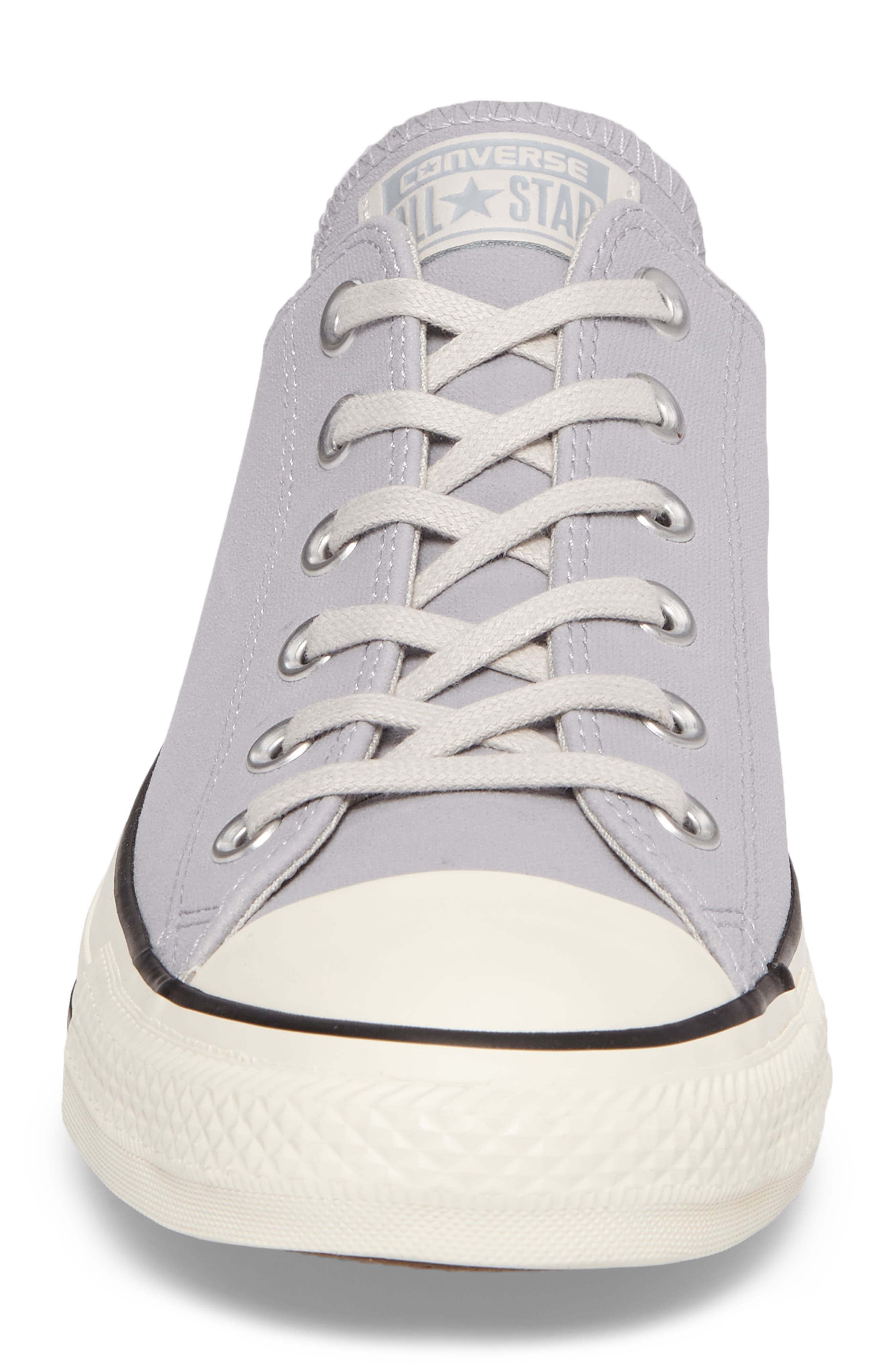 Chuck Taylor<sup>®</sup> All Star<sup>®</sup> Lo Sneaker,                             Alternate thumbnail 4, color,                             Wolf Grey