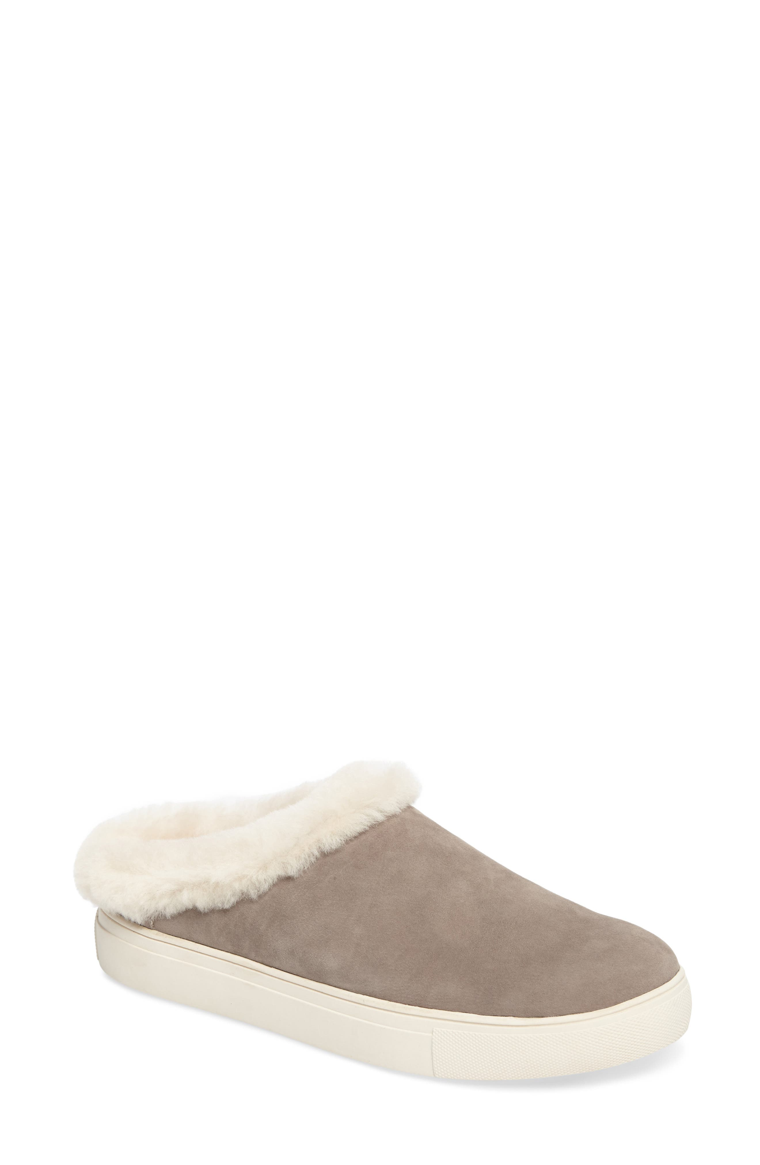 Alternate Image 1 Selected - Sudini Leia Genuine Shearling Lined Slip-On (Women)
