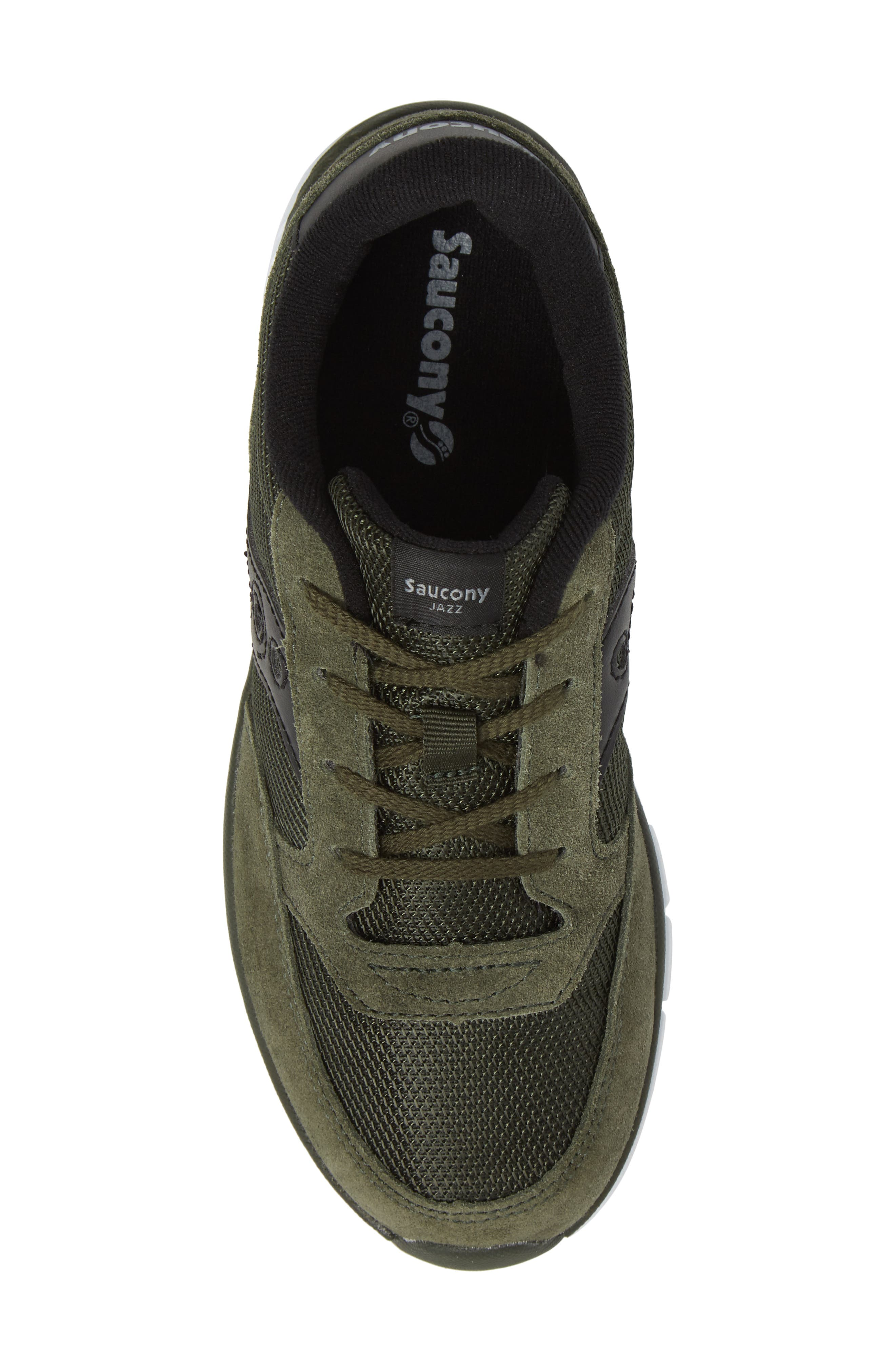 Jazz Lite Sneaker,                             Alternate thumbnail 5, color,                             Olive