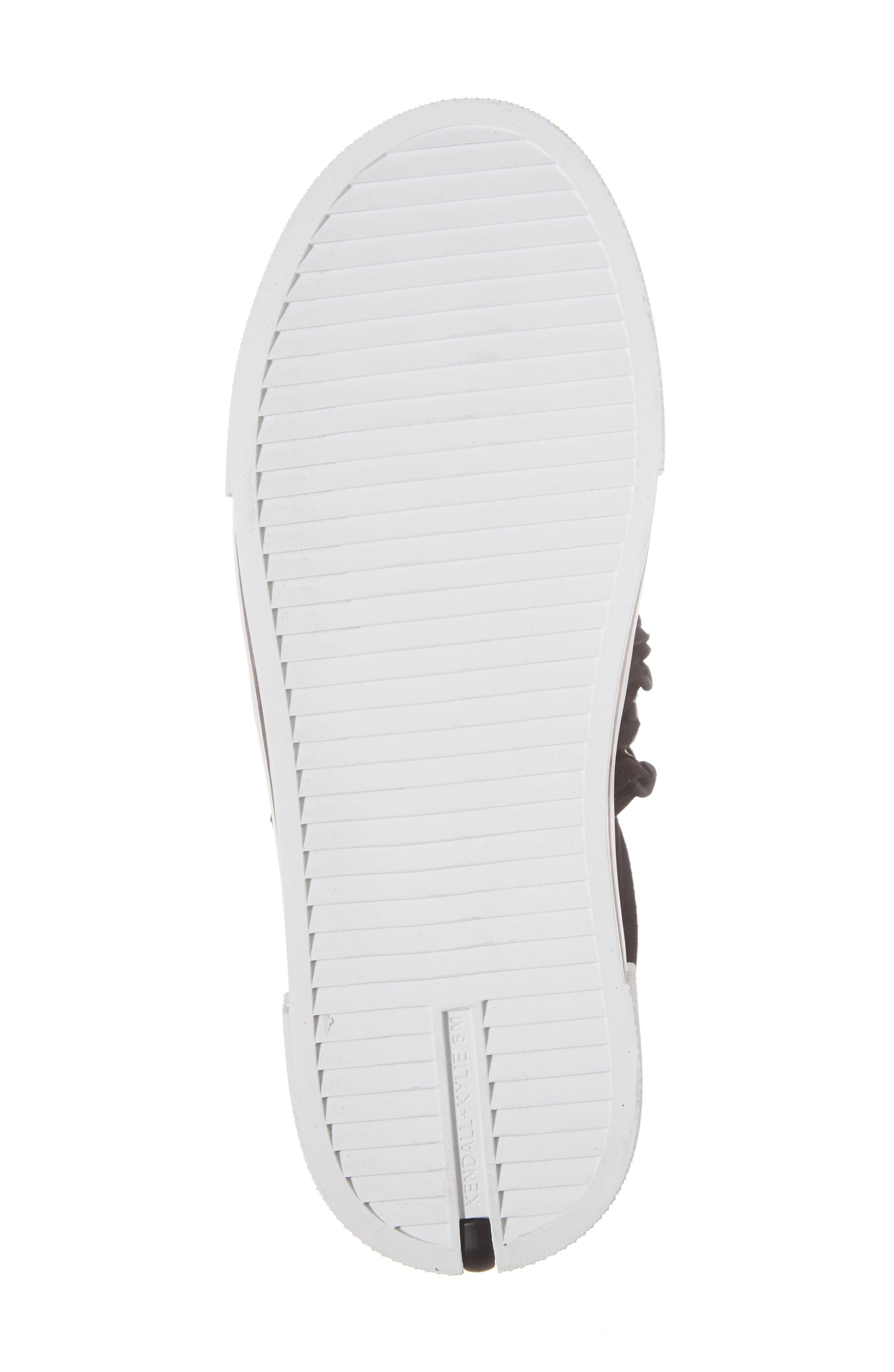 Tory Platform Sneaker,                             Alternate thumbnail 6, color,                             Black