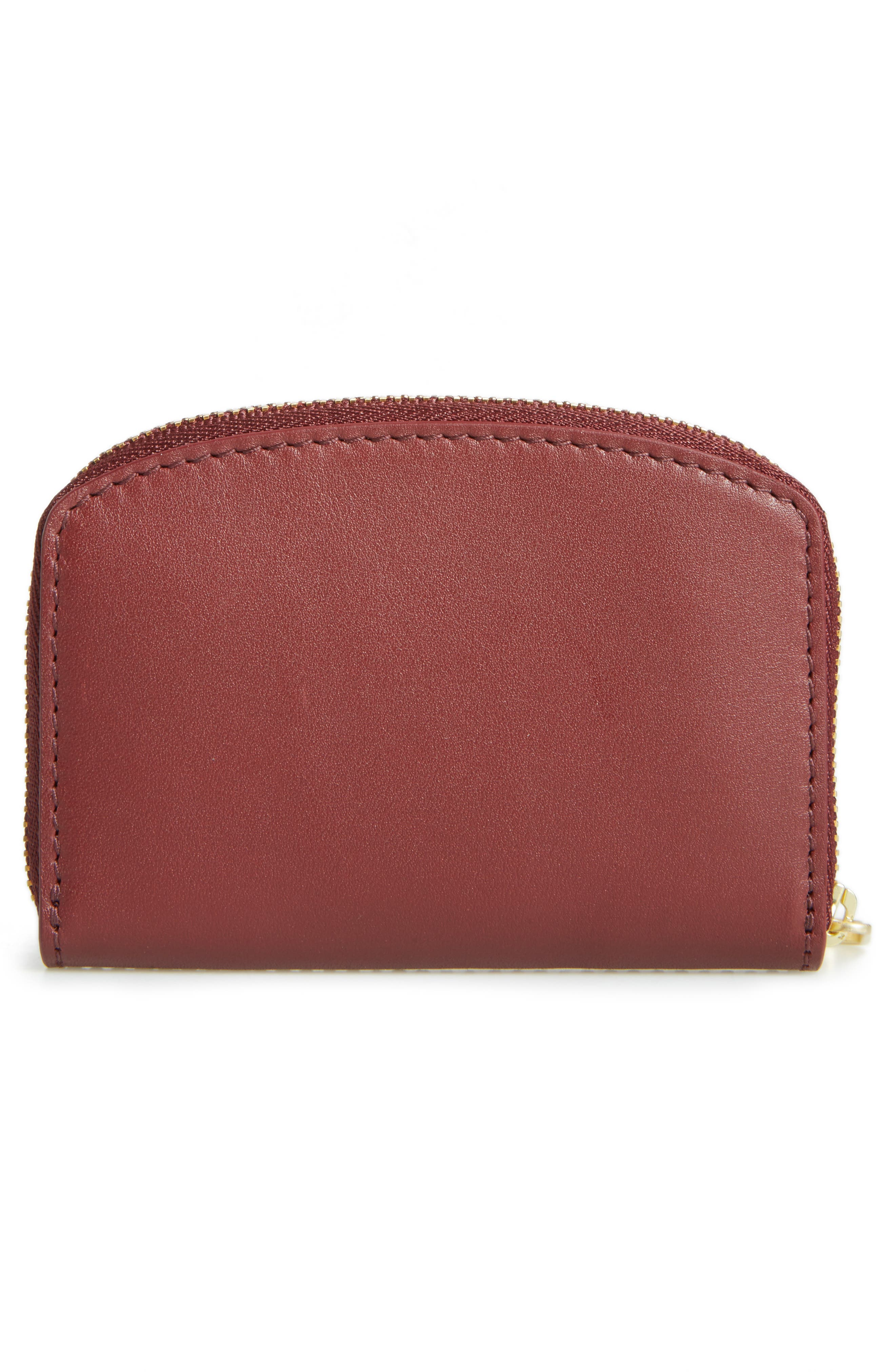Alternate Image 2  - Skagen Zip Leather Coin Wallet