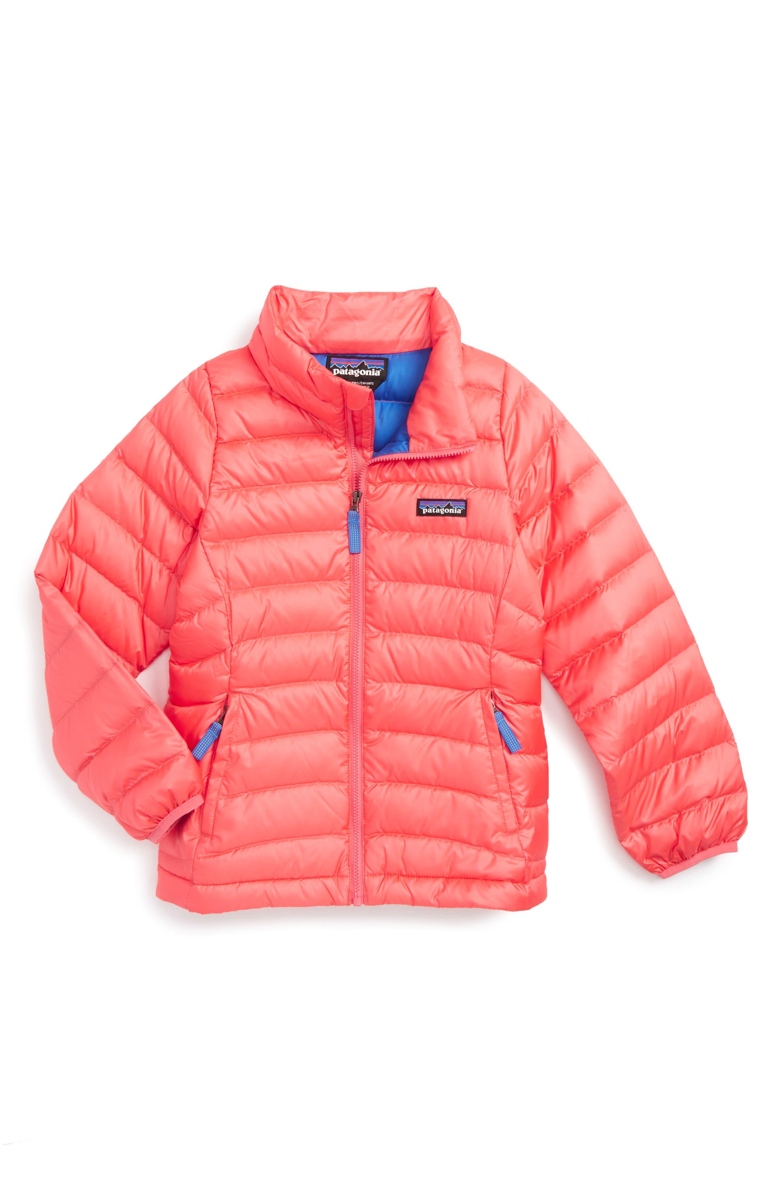 Alternate Image 1 Selected - Patagonia Down Jacket (Little Girls & Big Girls)