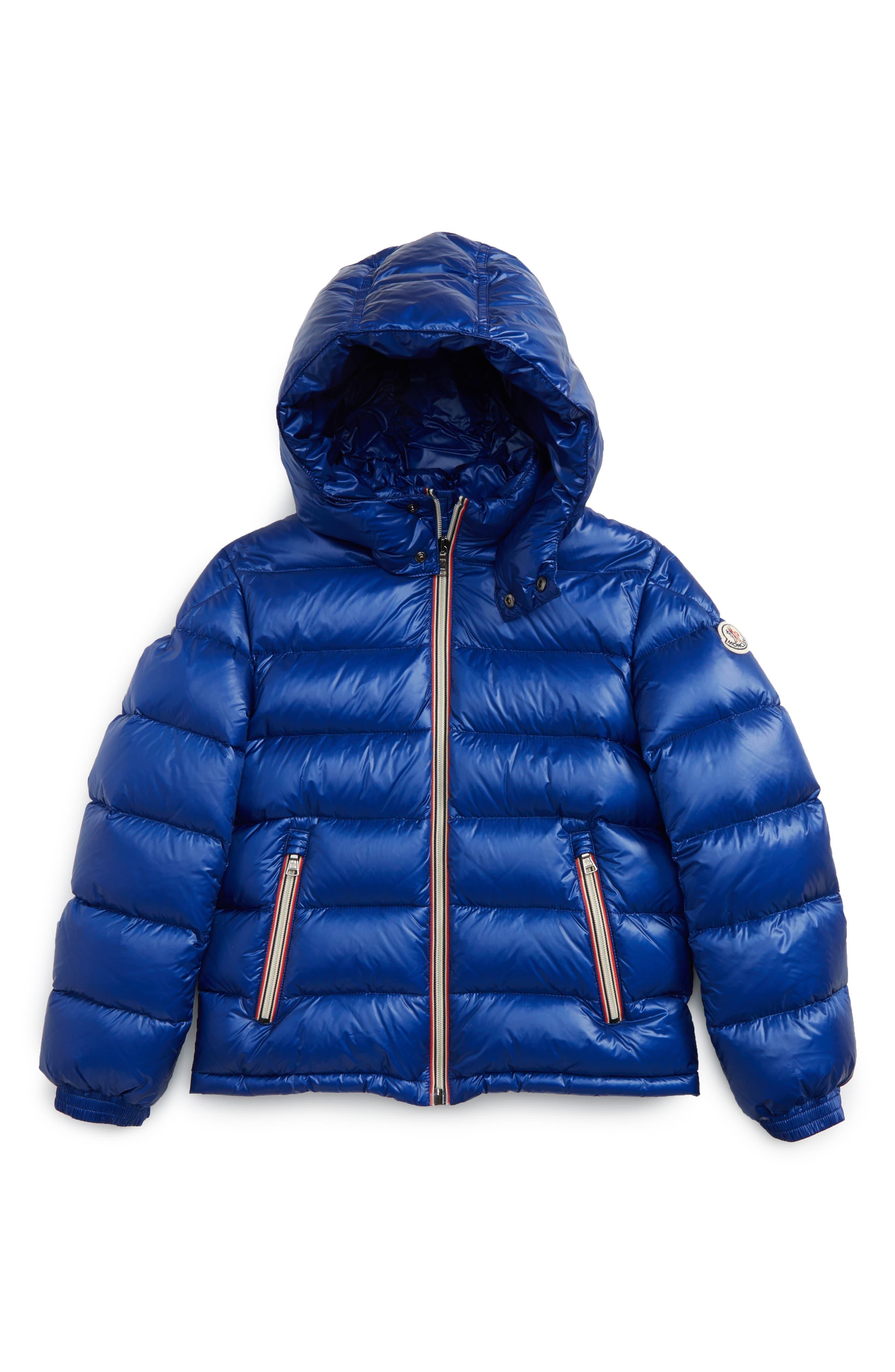Alternate Image 1 Selected - Moncler New Gaston Hooded Water Resistant Down Jacket (Toddler Boys, Little Boys & Big Boys)