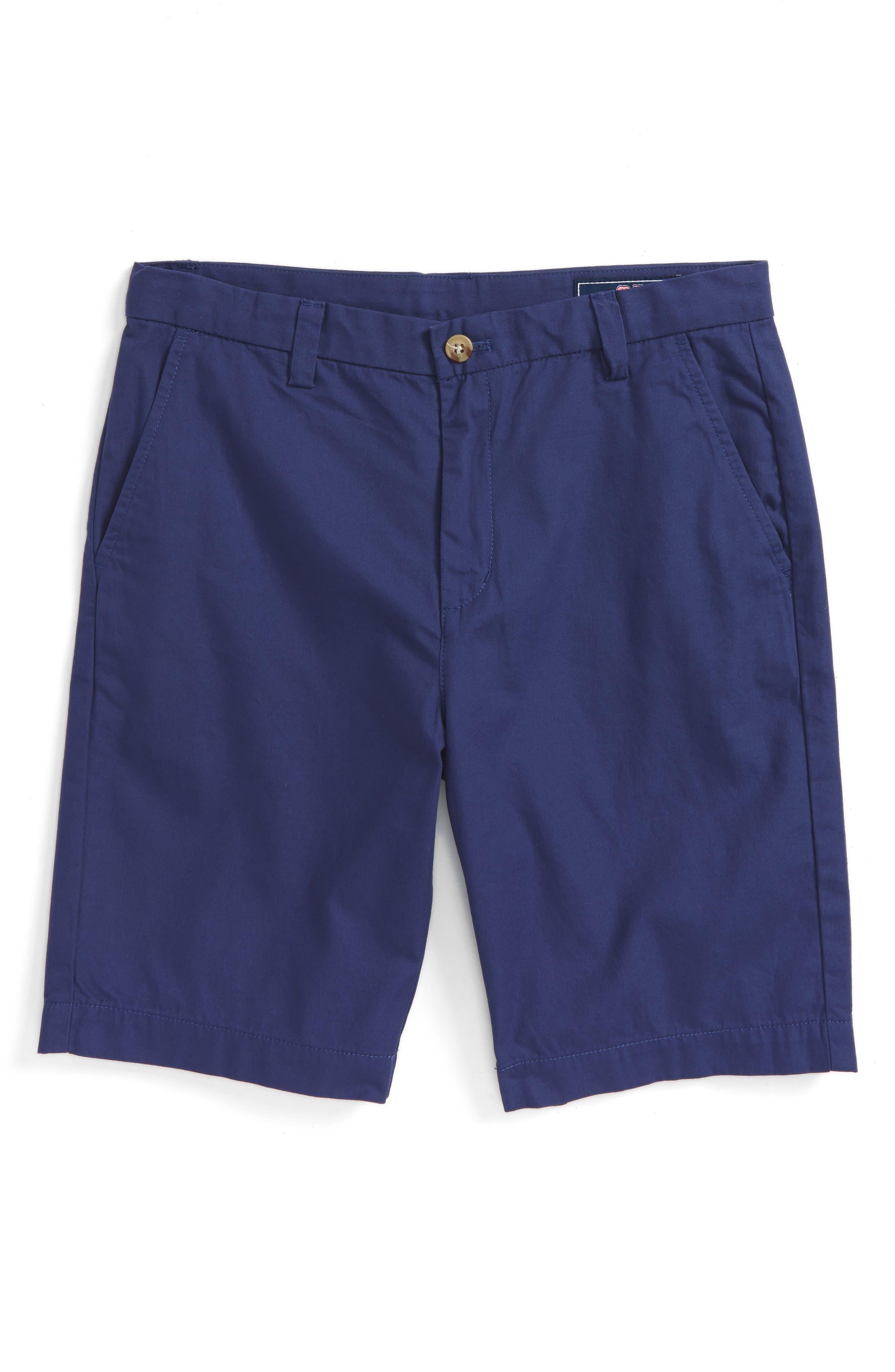 Summer - Breaker Twill Shorts,                         Main,                         color, Deep Cobalt