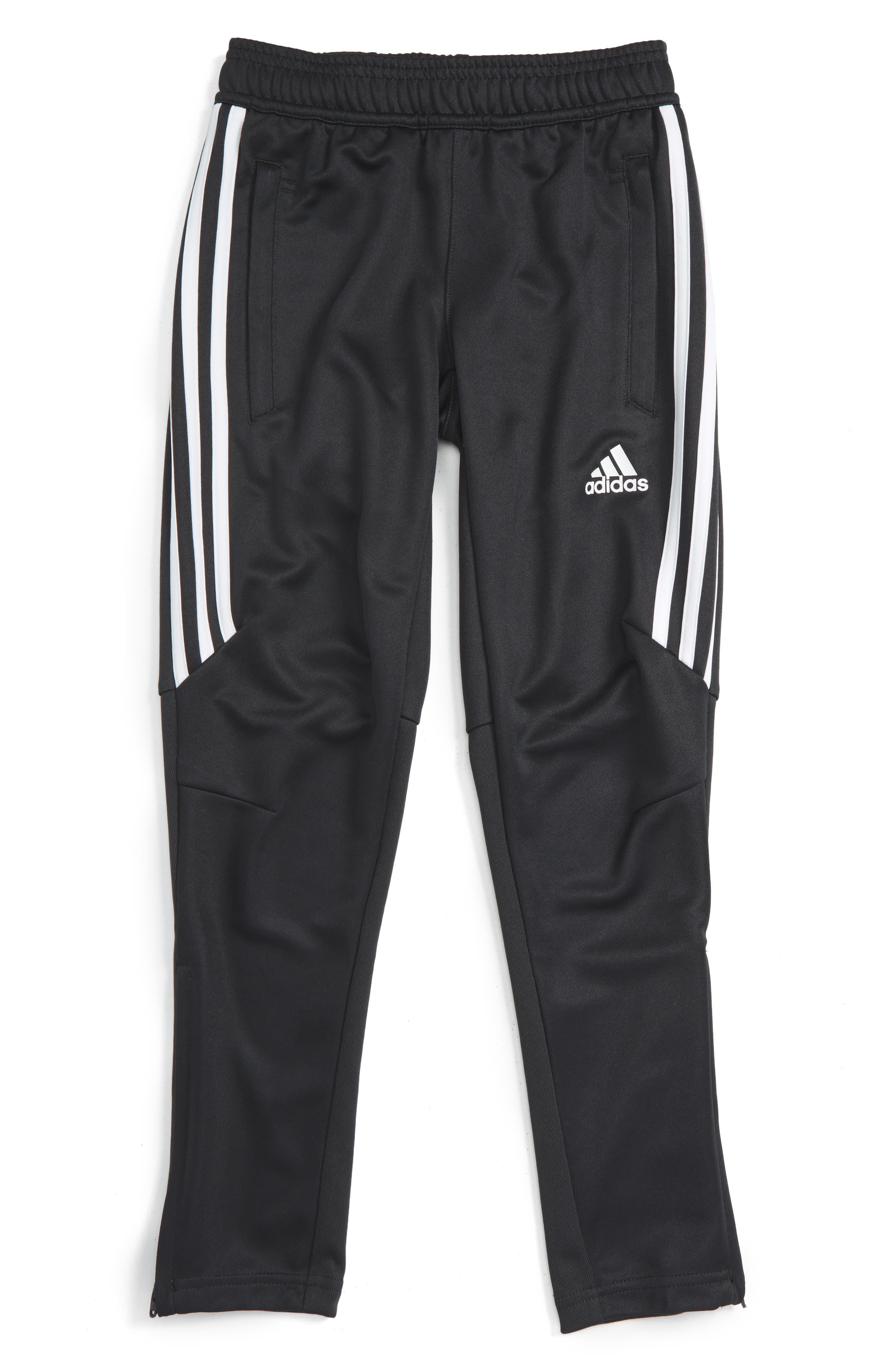Tiro 17 Training Pants,                             Main thumbnail 1, color,                             Dark Grey/ White/ White
