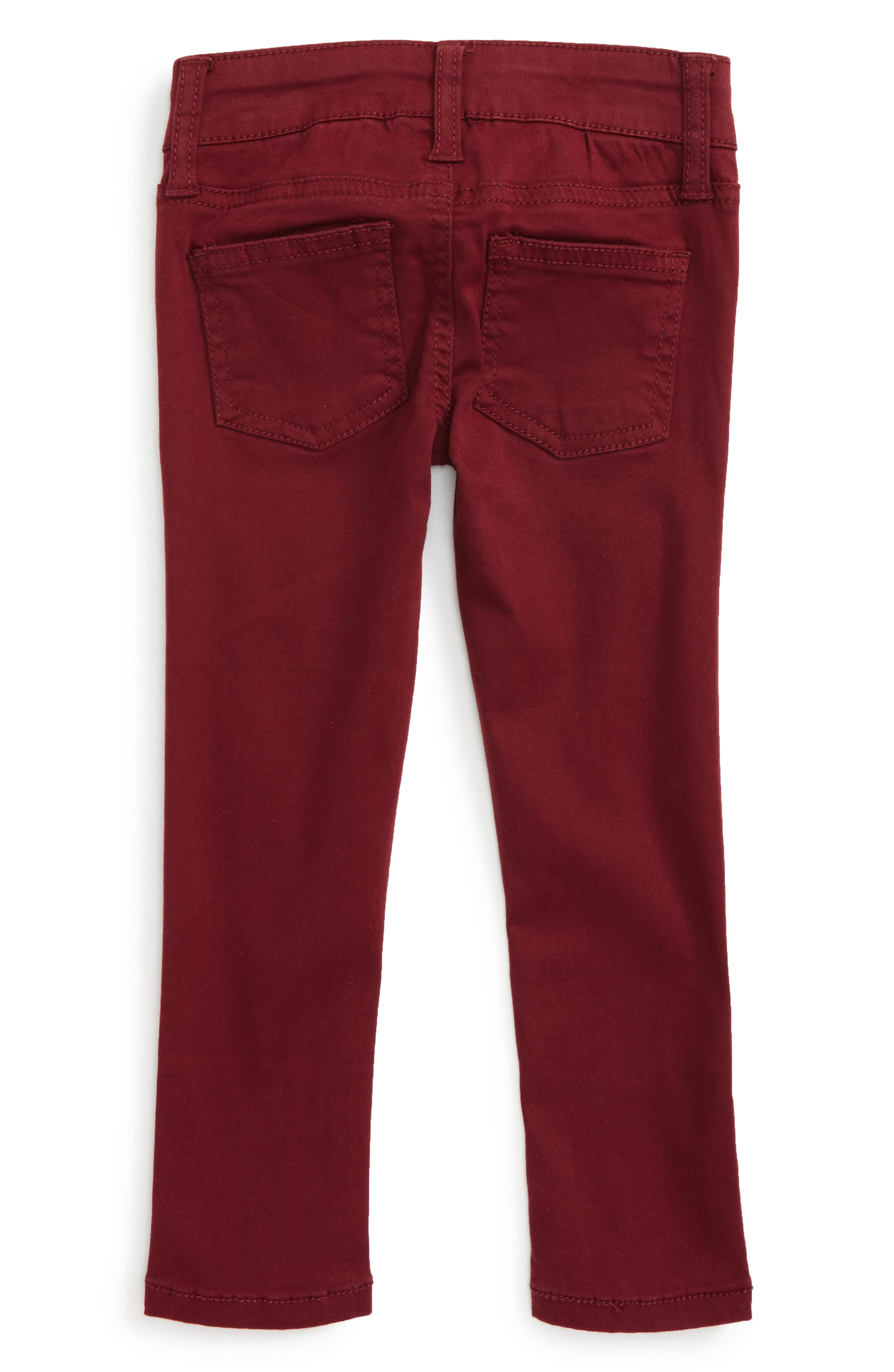 Taylor Skinny Jeans,                             Alternate thumbnail 2, color,                             Berry