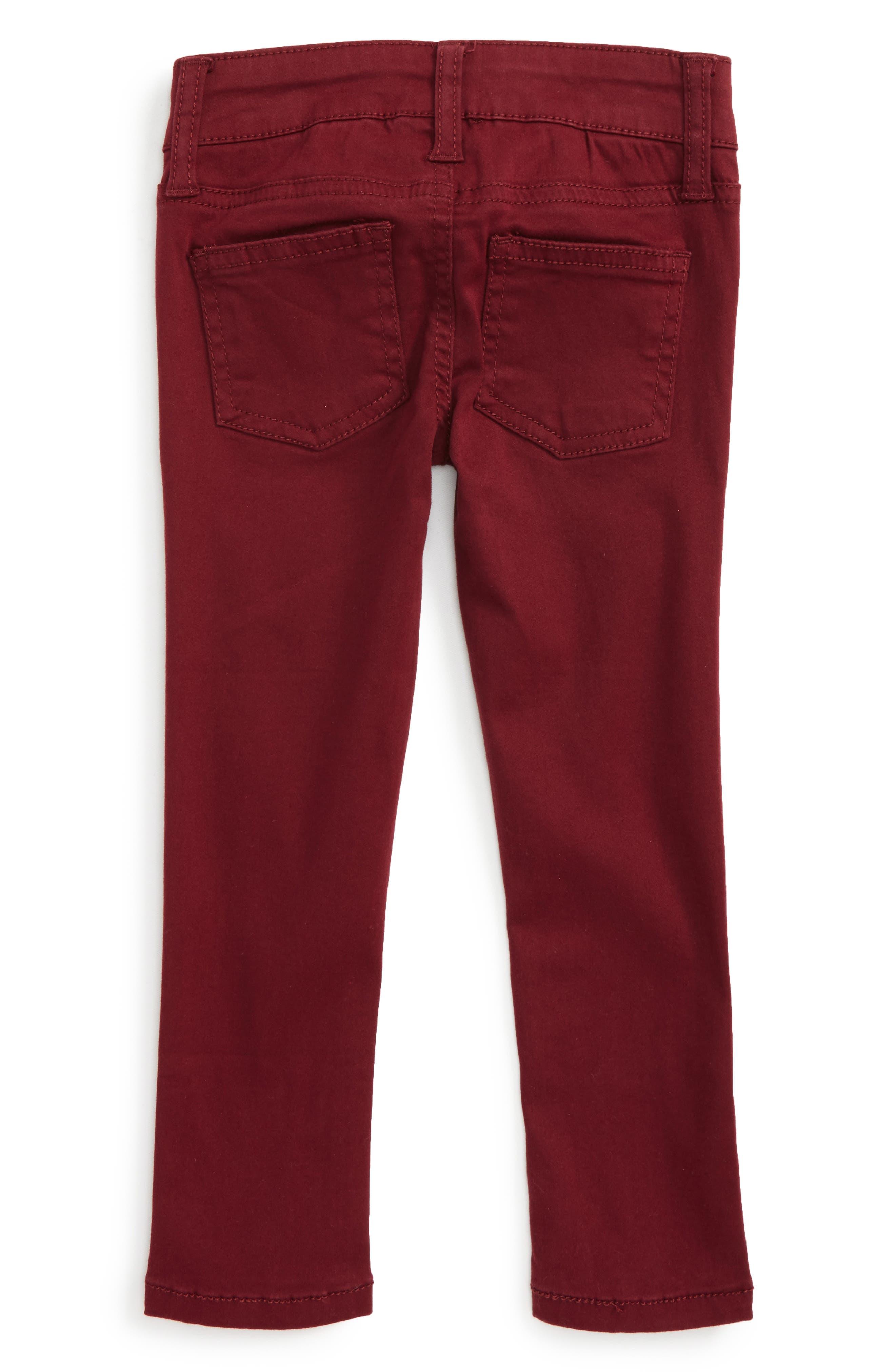 Alternate Image 2  - Peek Taylor Skinny Jeans (Toddler Girls, Little Girls & Big Girls)