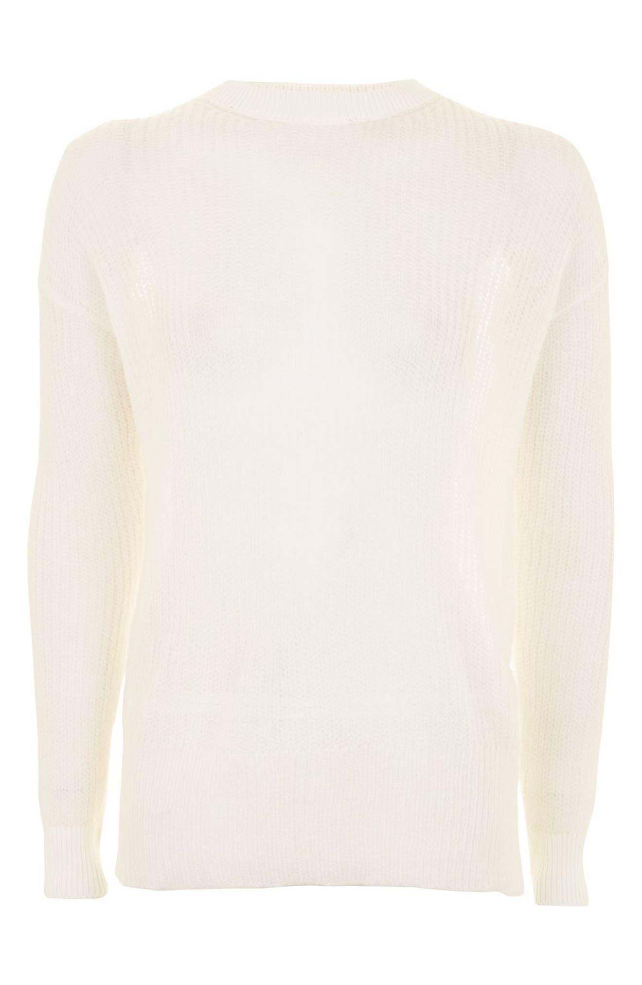 Alternate Image 5  - Topshop Envelope Back Sweater