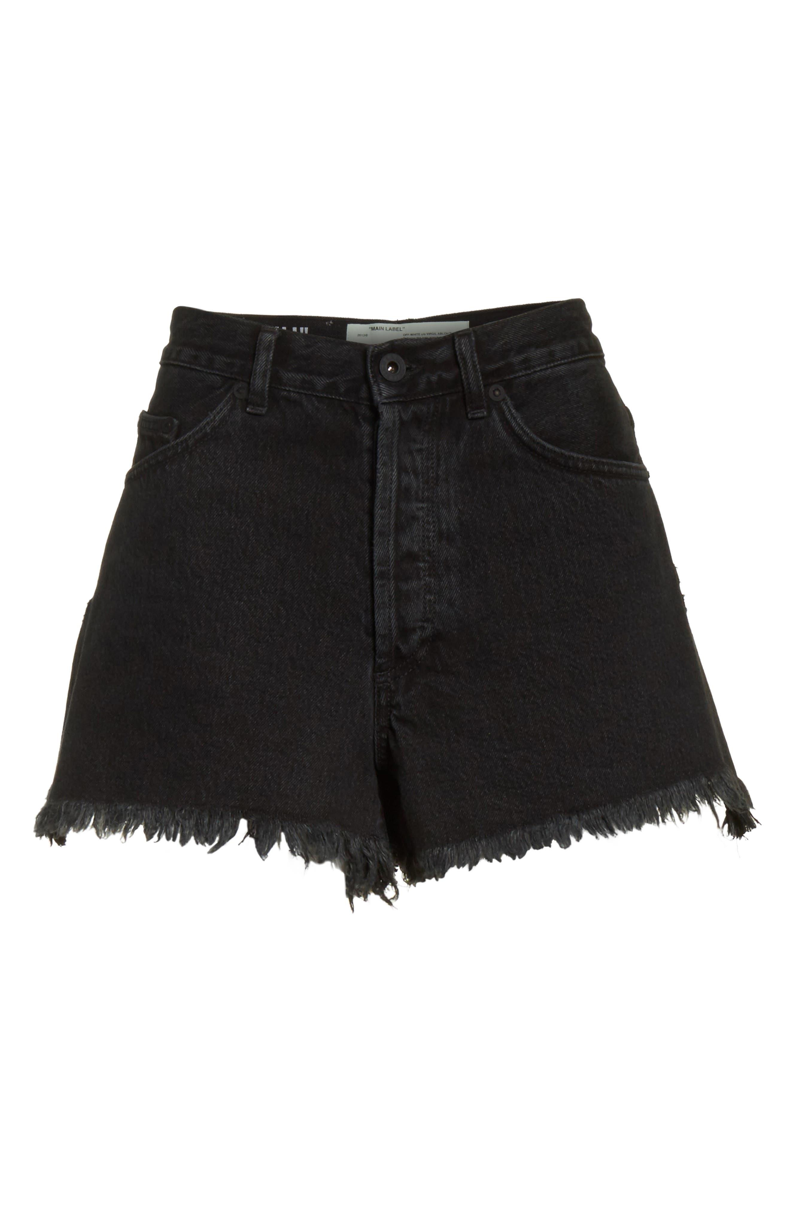 Alternate Image 7  - Off White Fern 5 Pocket Shorts