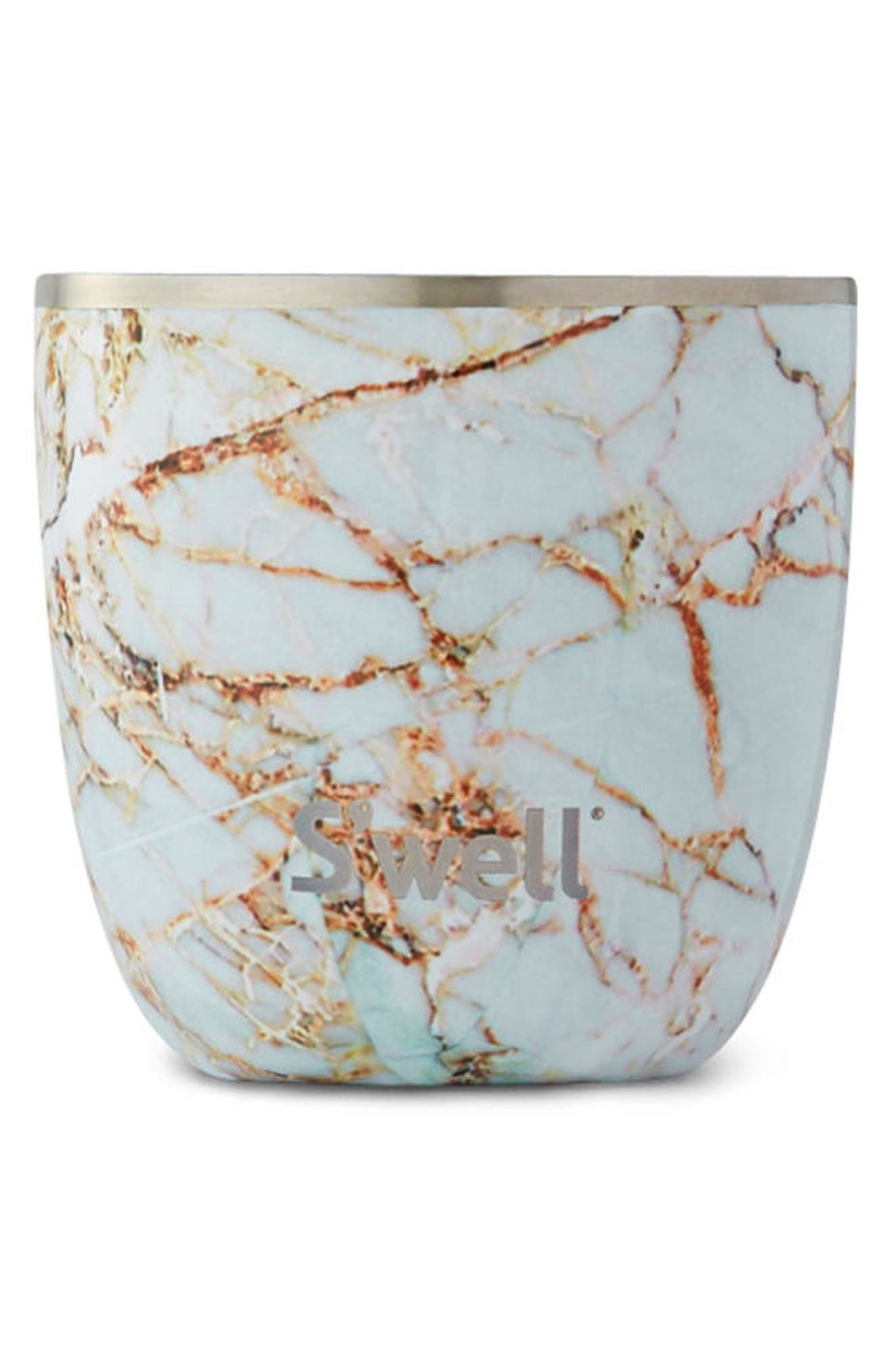 Main Image - S'well Calcatta Gold Stainless Steel Tumbler