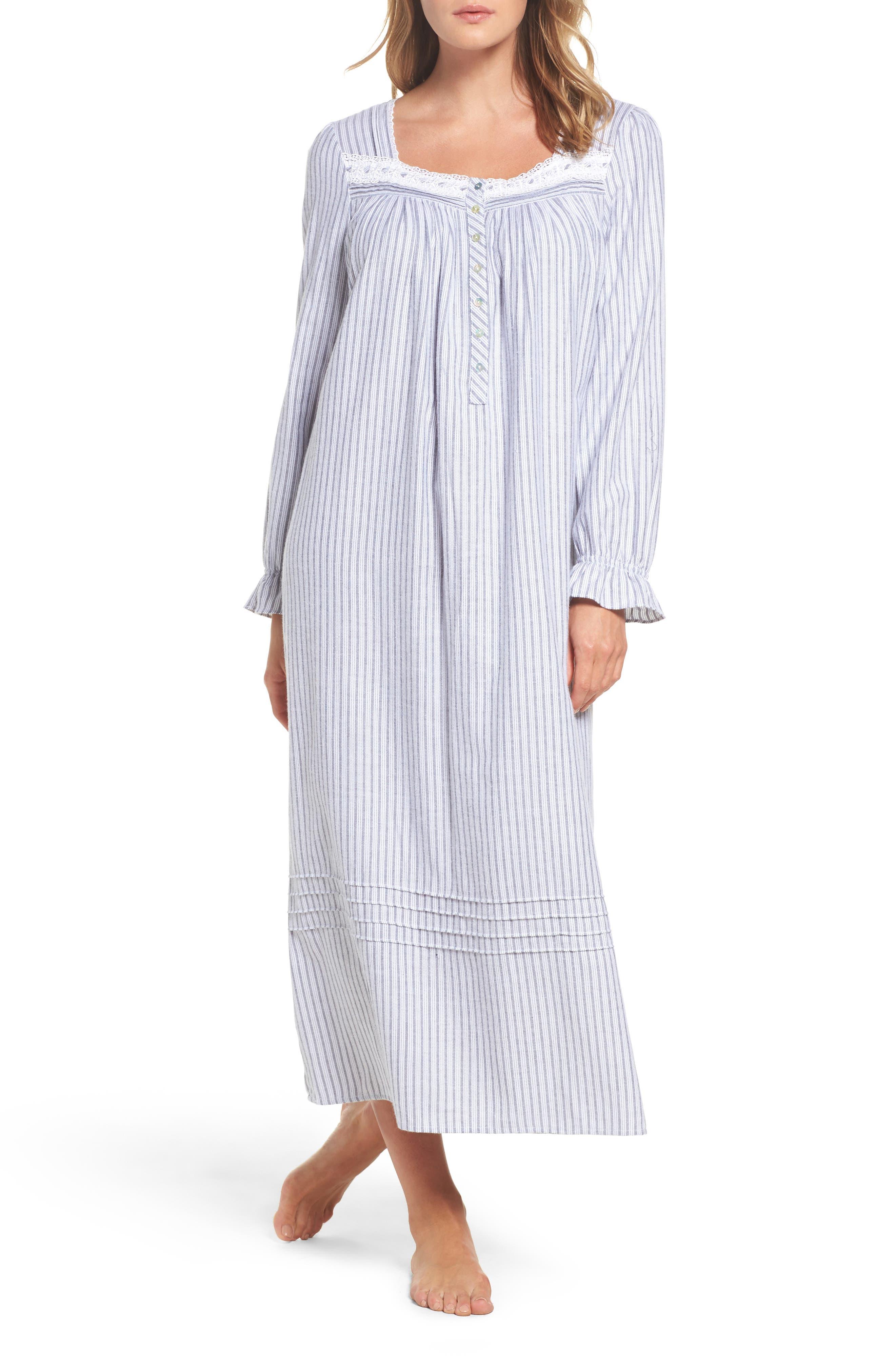 Eileen West Stripe Nightgown