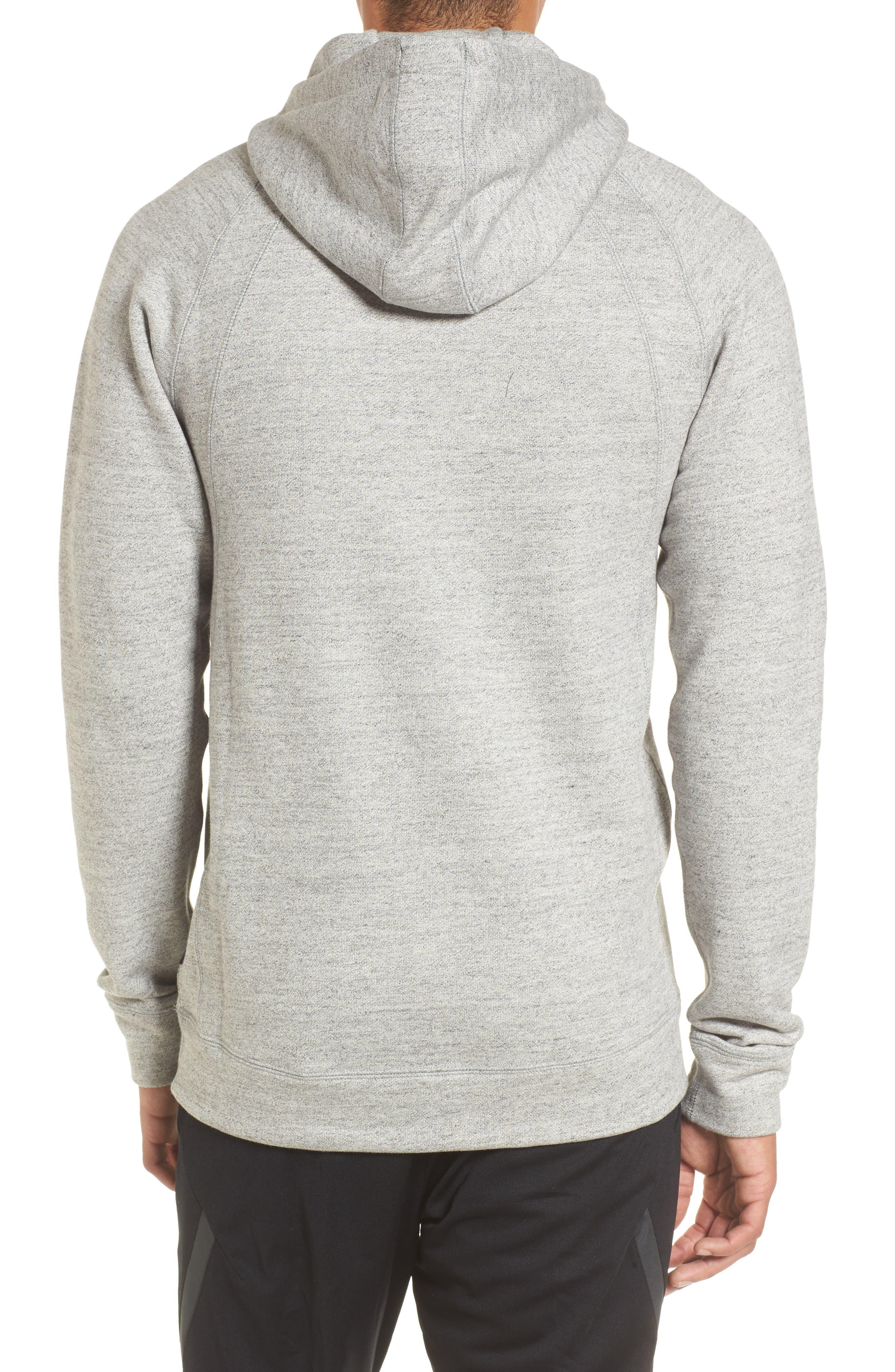 Alternate Image 2  - Nike Jordan Sportswear Fleece Hoodie