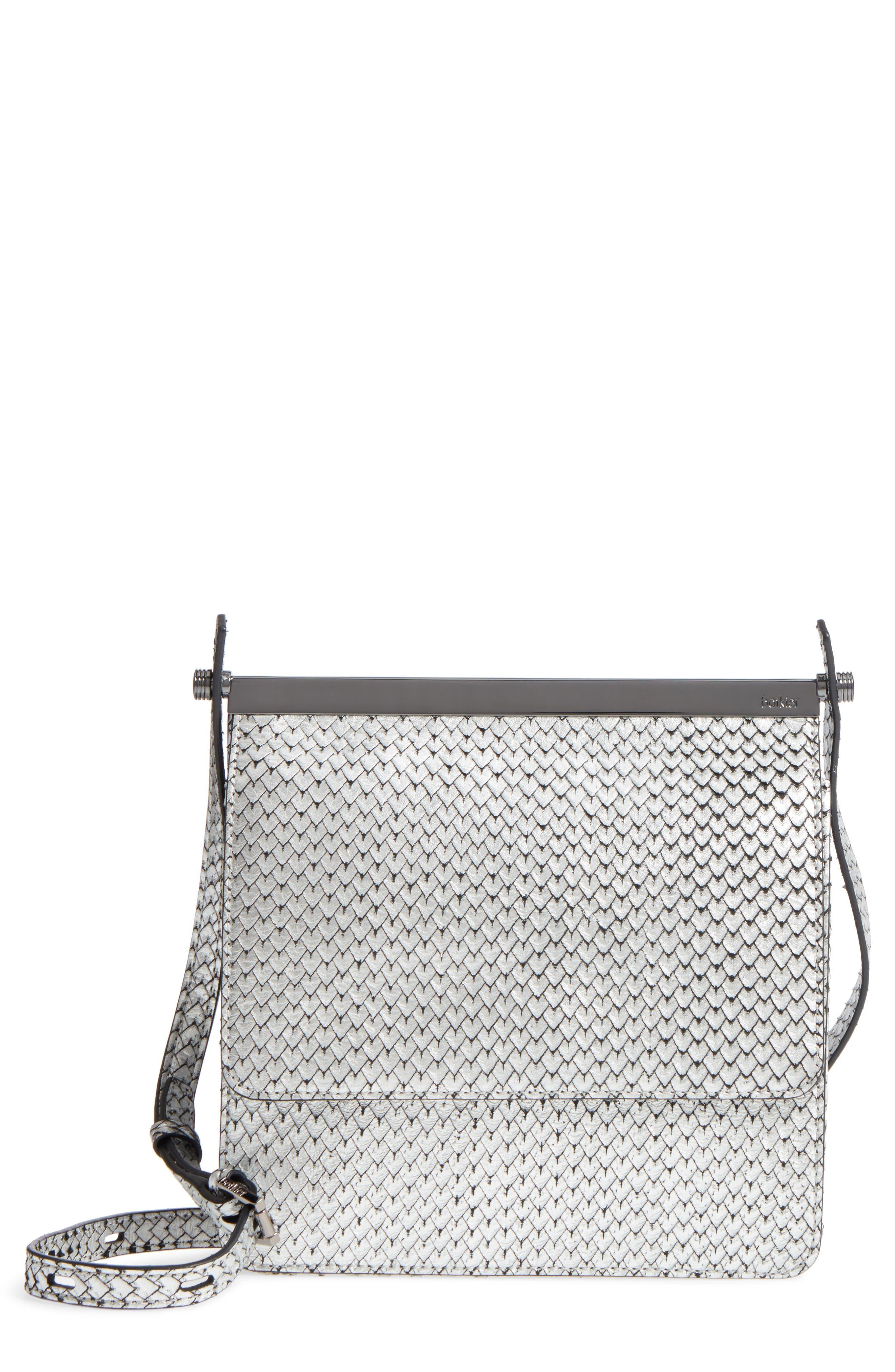 Alternate Image 1 Selected - Botkier Crawford Calfskin Leather Crossbody Bag