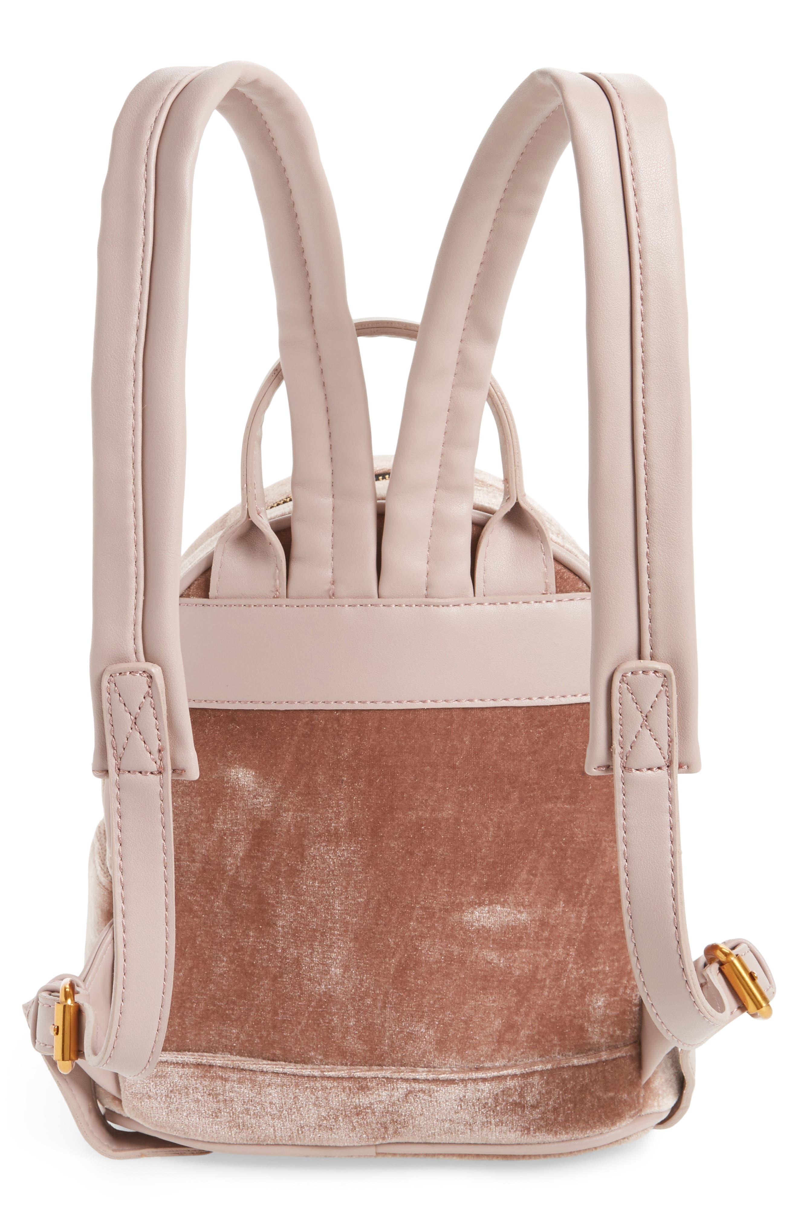Alternate Image 3  - Street Level Velvet Backpack