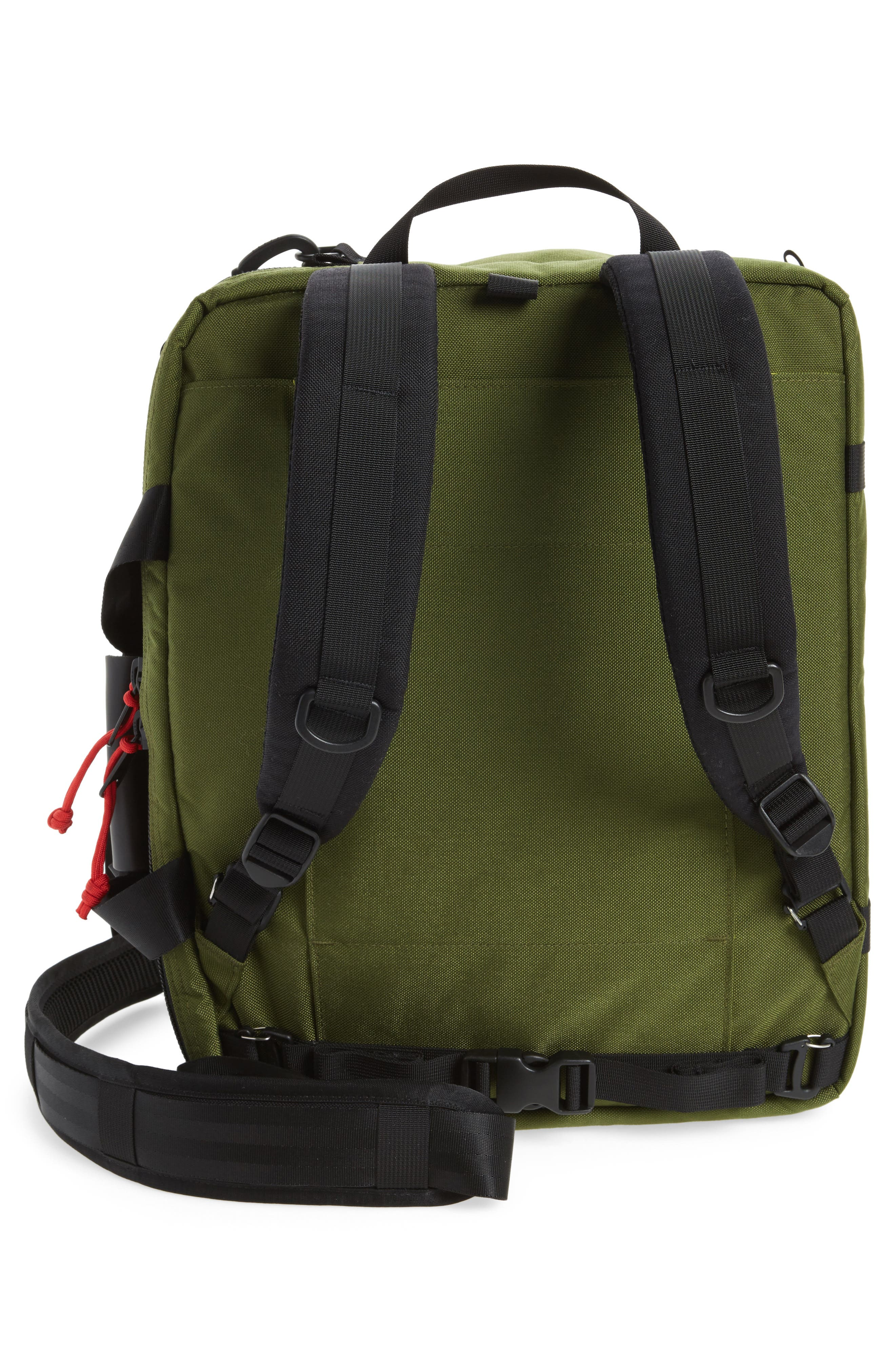 3-Day Briefcase,                             Alternate thumbnail 3, color,                             Olive/ Ballistic Black