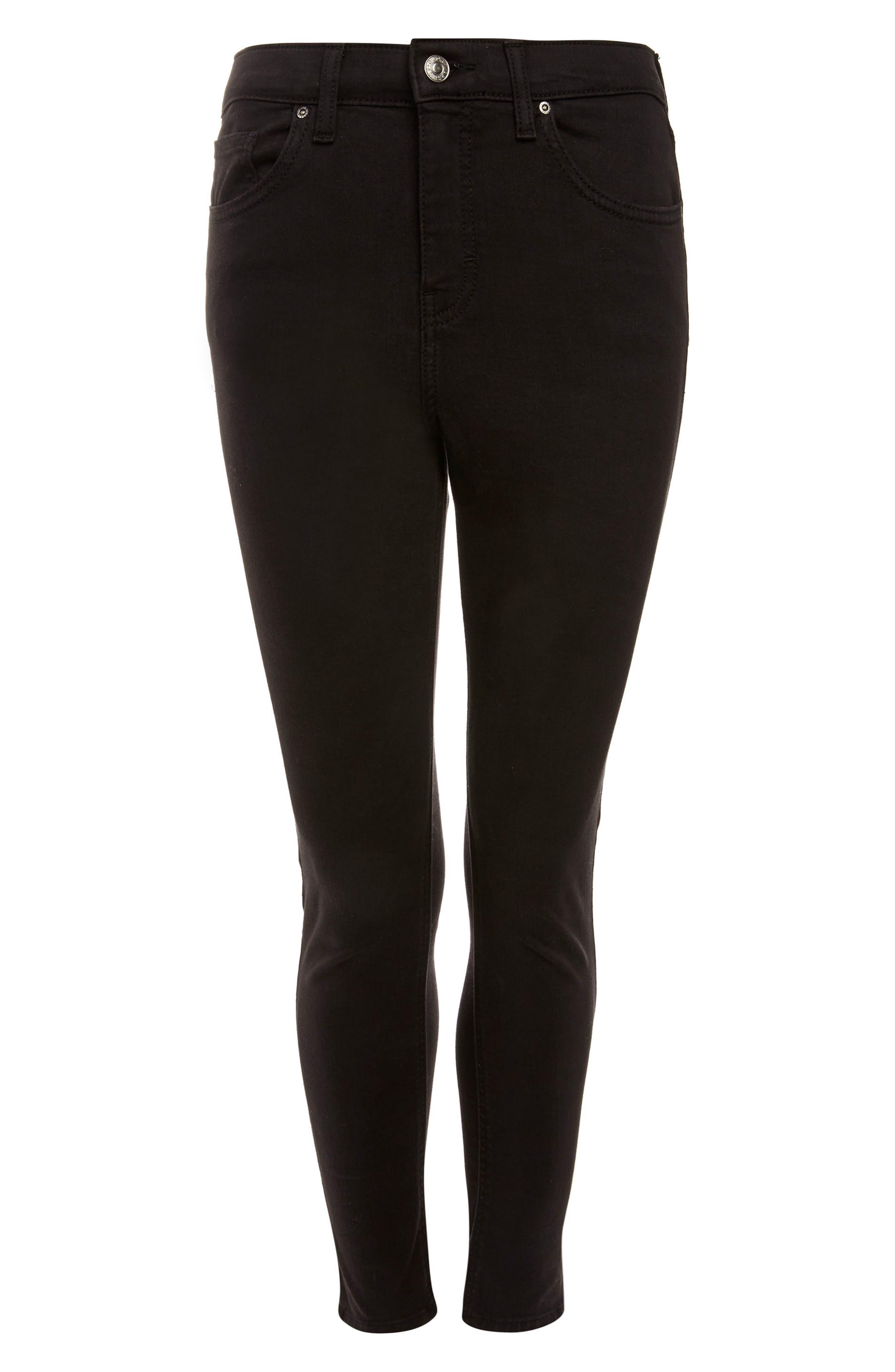 Alternate Image 3  - Topshop Jamie High Waist Ankle Grazer Skinny Jeans