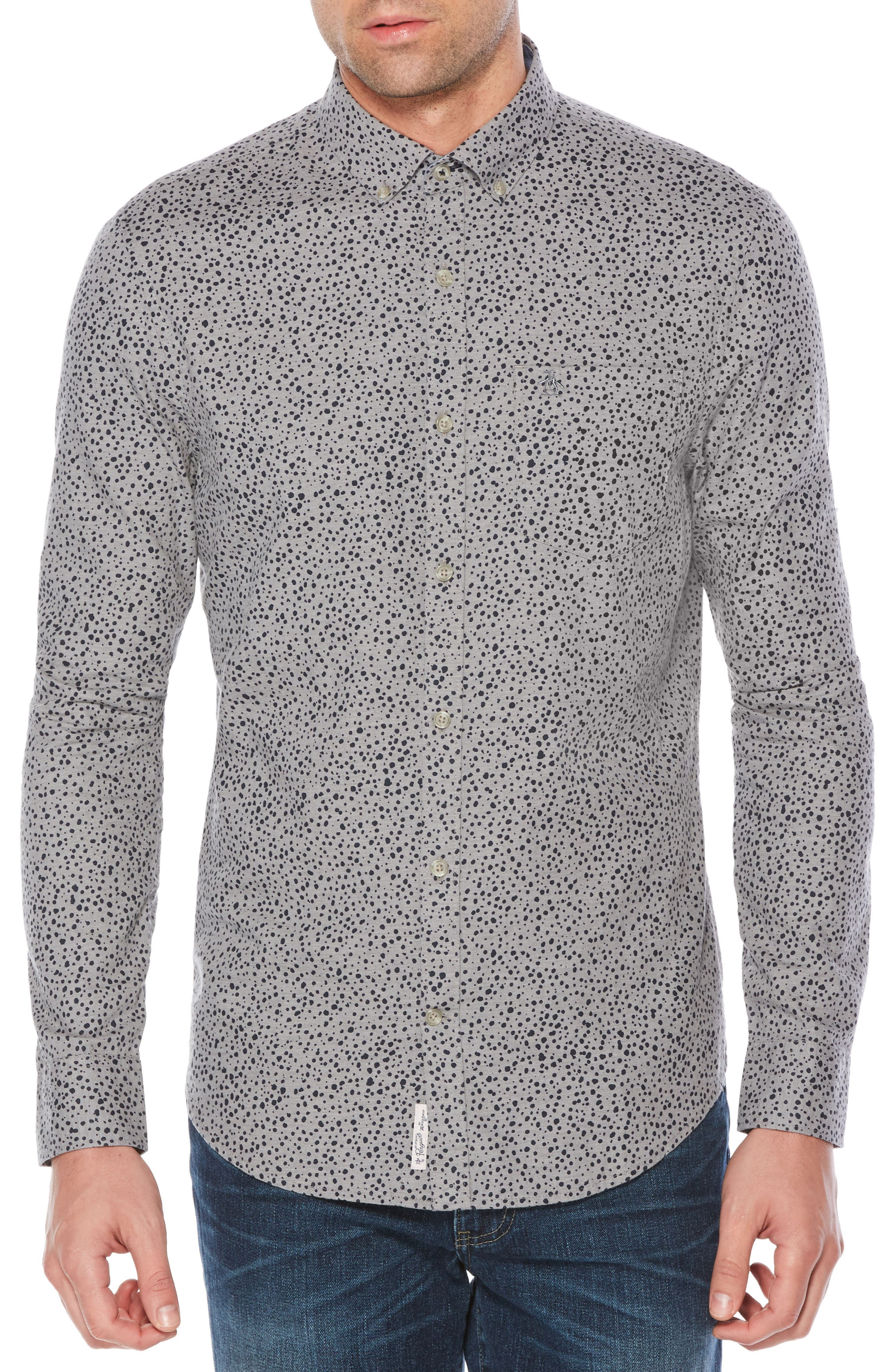 Alternate Image 1 Selected - Original Penguin Drop Print Shirt